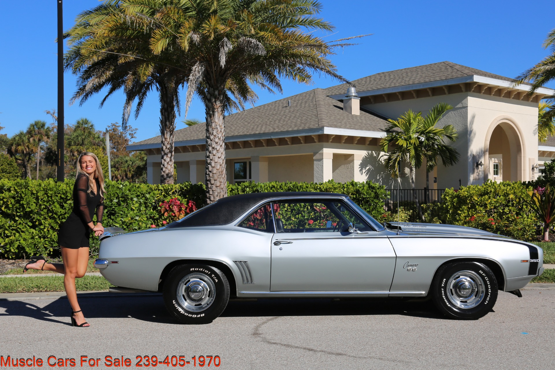 Used 1969 Chevrolet RS Camaro Rally Sport for sale Sold at Muscle Cars for Sale Inc. in Fort Myers FL 33912 6