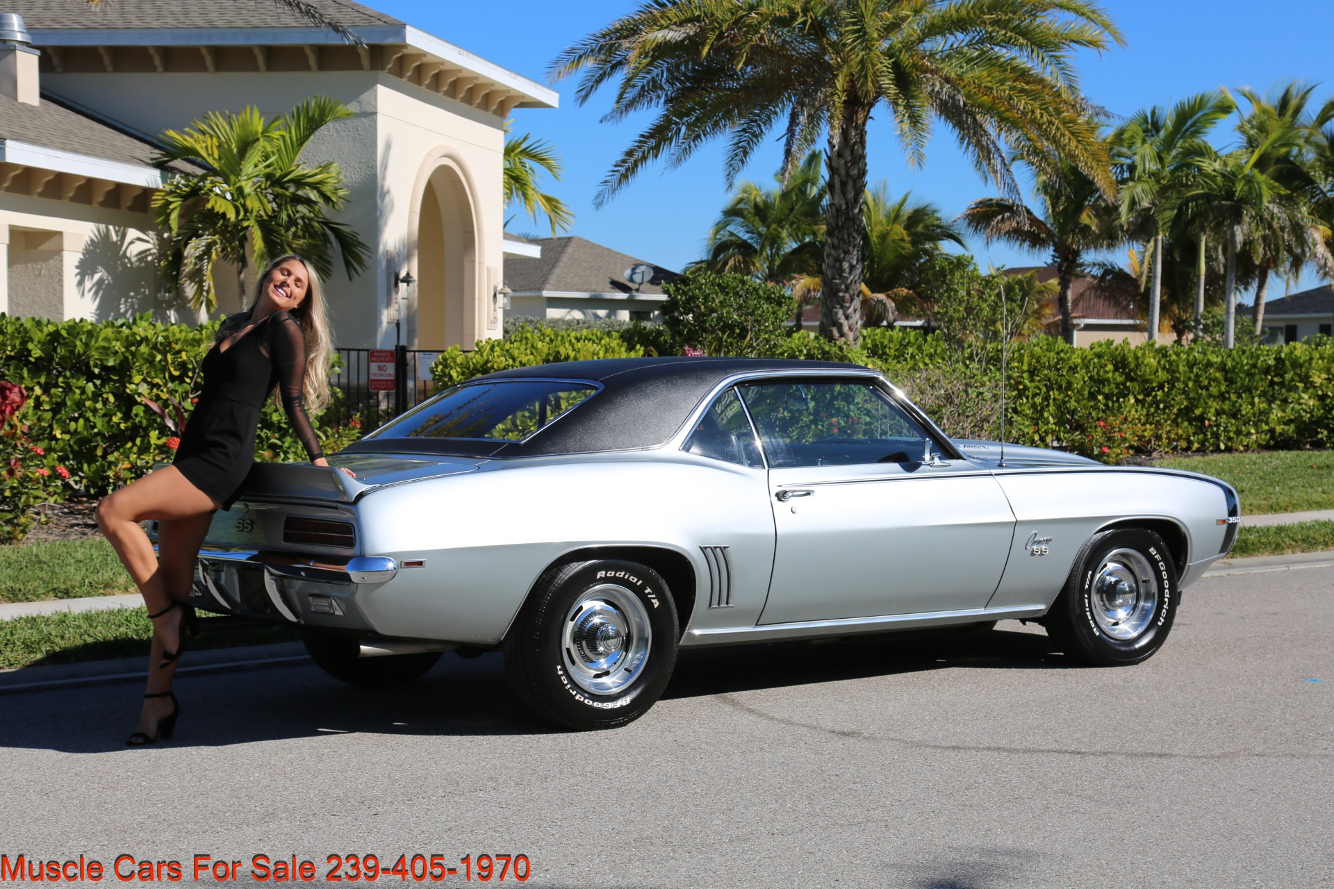 Used 1969 Chevrolet RS Camaro Rally Sport for sale Sold at Muscle Cars for Sale Inc. in Fort Myers FL 33912 7