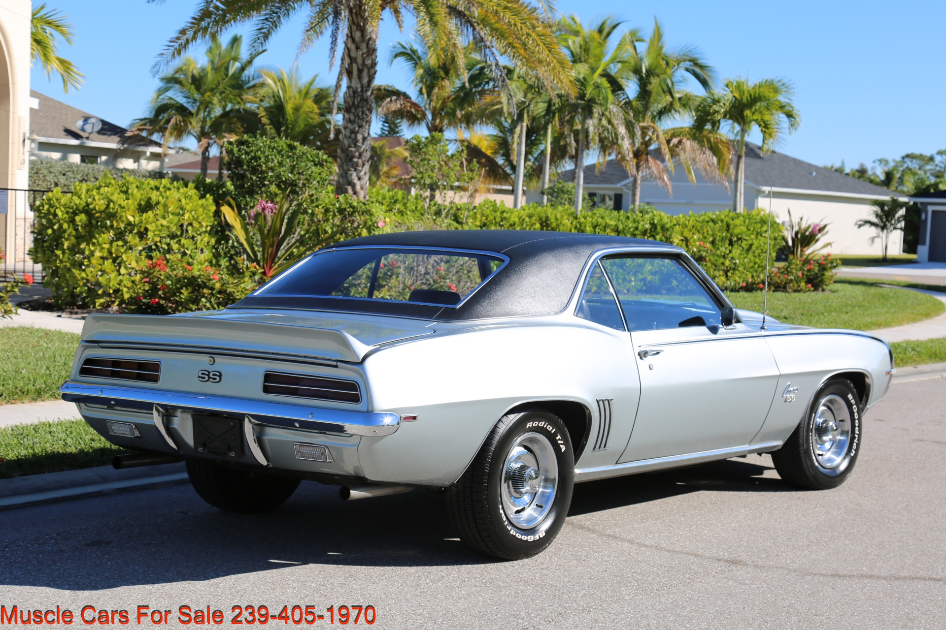 Used 1969 Chevrolet RS Camaro Rally Sport for sale Sold at Muscle Cars for Sale Inc. in Fort Myers FL 33912 8