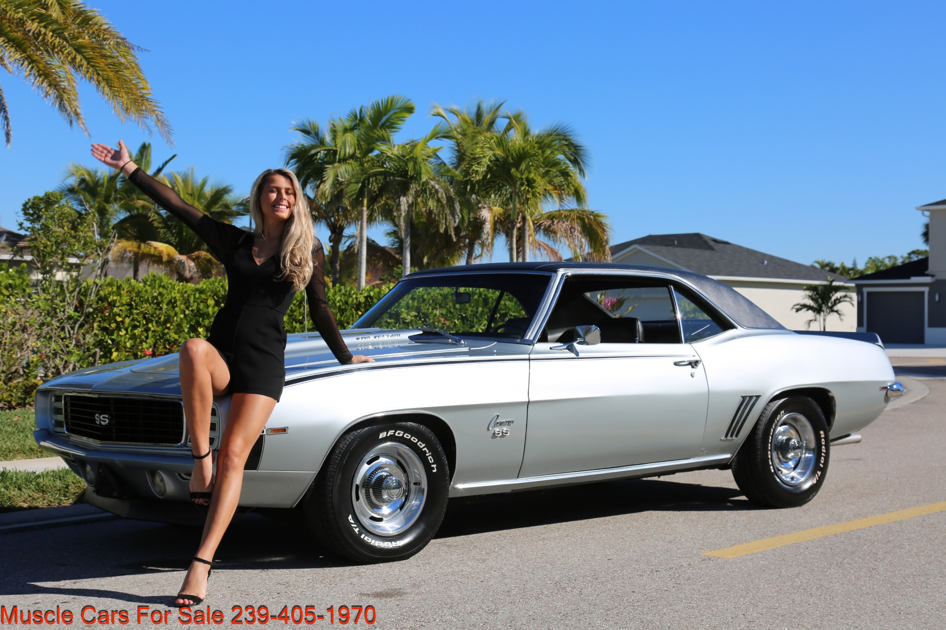Used 1969 Chevrolet RS Camaro Rally Sport for sale Sold at Muscle Cars for Sale Inc. in Fort Myers FL 33912 1