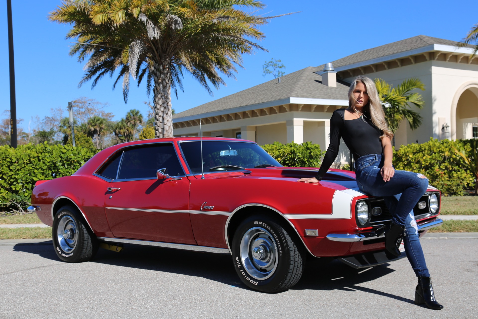 Used 1968 Chevrolet Camaro Camaro V8 350 Auto for sale Sold at Muscle Cars for Sale Inc. in Fort Myers FL 33912 2