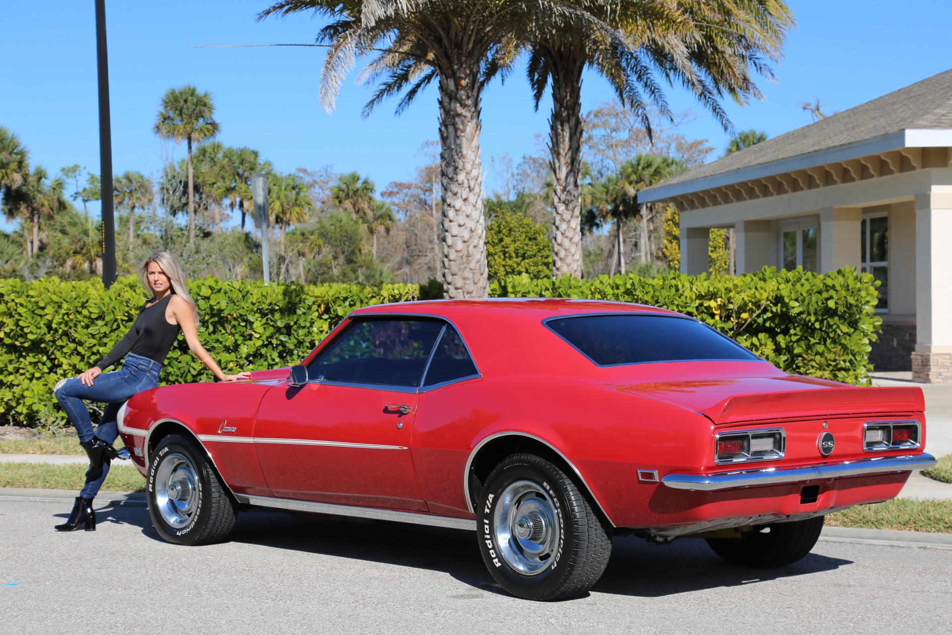Used 1968 Chevrolet Camaro Camaro V8 350 Auto for sale Sold at Muscle Cars for Sale Inc. in Fort Myers FL 33912 3