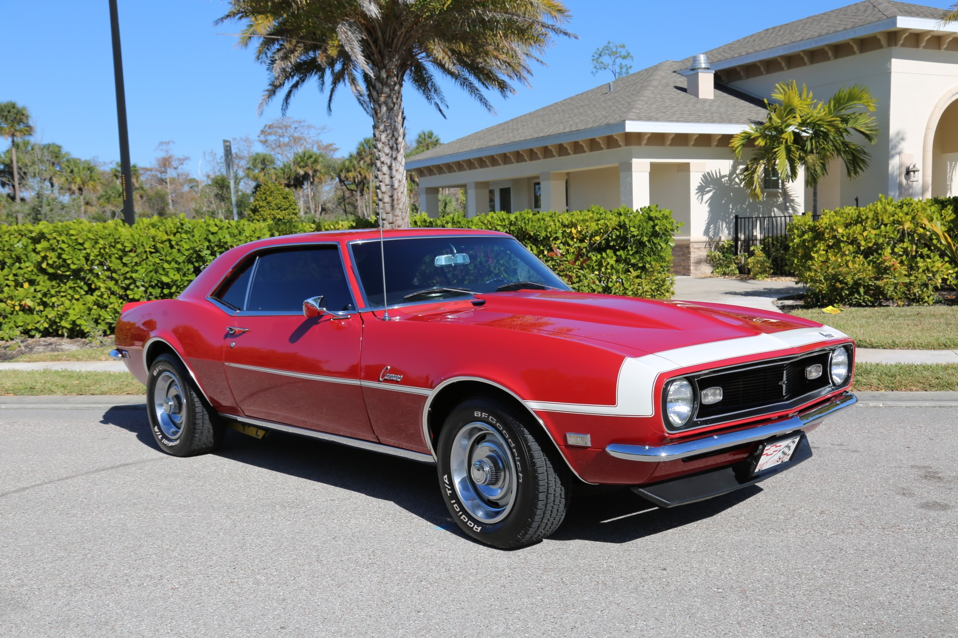 Used 1968 Chevrolet Camaro Camaro V8 350 Auto for sale Sold at Muscle Cars for Sale Inc. in Fort Myers FL 33912 4