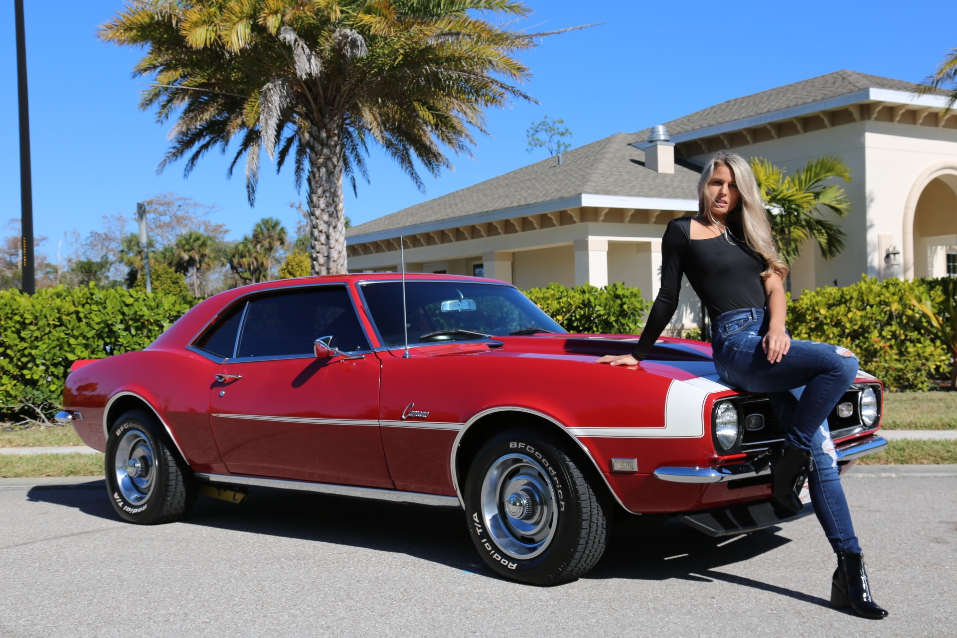 Used 1968 Chevrolet Camaro Camaro V8 350 Auto for sale Sold at Muscle Cars for Sale Inc. in Fort Myers FL 33912 5