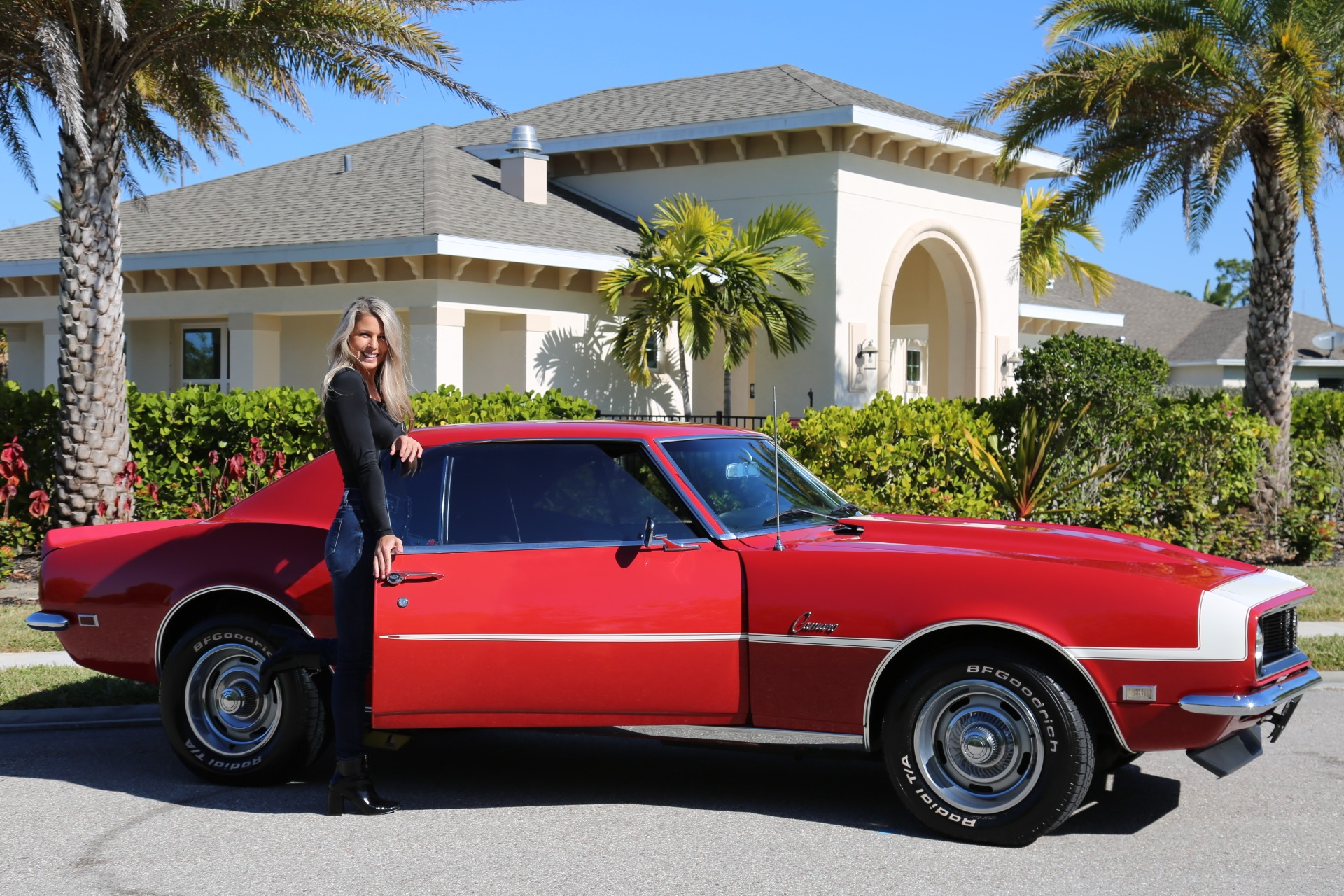 Used 1968 Chevrolet Camaro Camaro V8 350 Auto for sale Sold at Muscle Cars for Sale Inc. in Fort Myers FL 33912 6