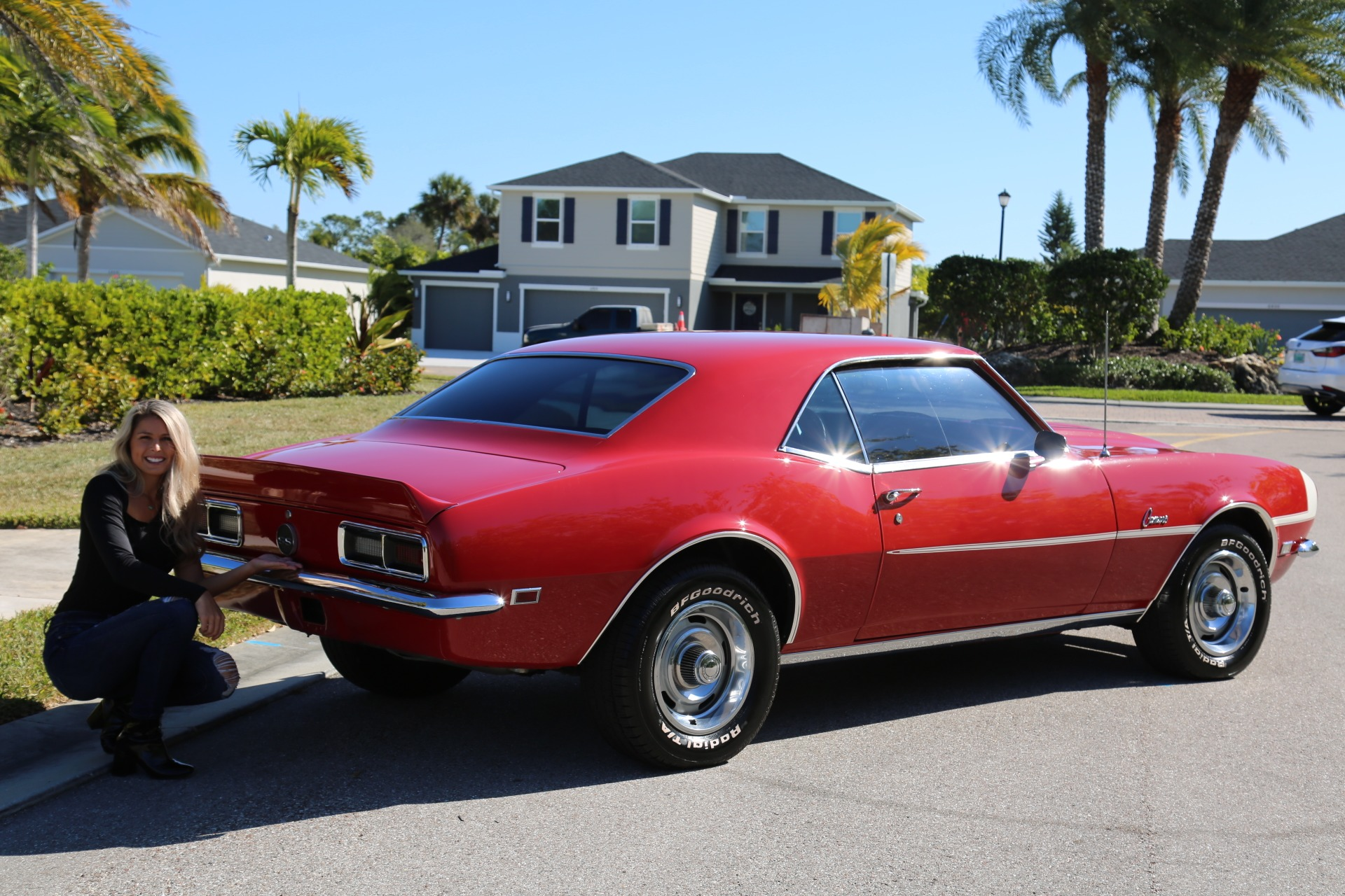 Used 1968 Chevrolet Camaro Camaro V8 350 Auto for sale Sold at Muscle Cars for Sale Inc. in Fort Myers FL 33912 7