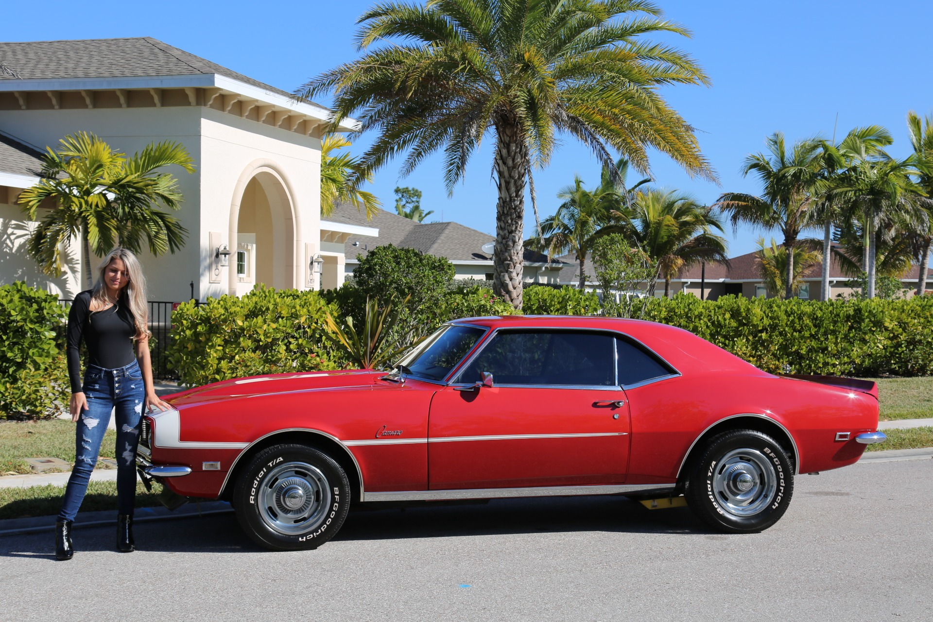 Used 1968 Chevrolet Camaro Camaro V8 350 Auto for sale Sold at Muscle Cars for Sale Inc. in Fort Myers FL 33912 1