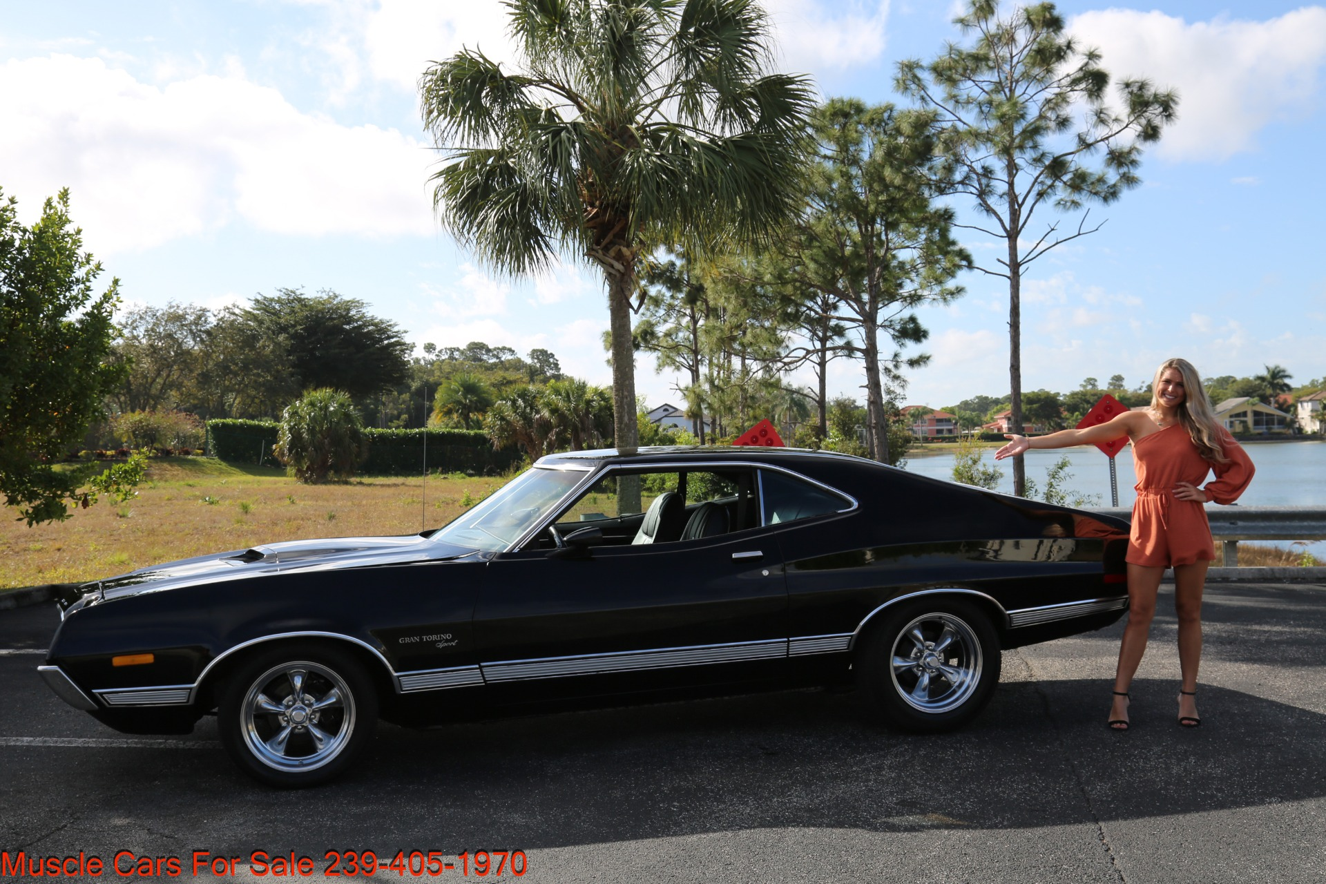 Used 1972 Ford Grand Torino Sport Sport 351 Cleveland Automatic A/C for sale $24,900 at Muscle Cars for Sale Inc. in Fort Myers FL 33912 2