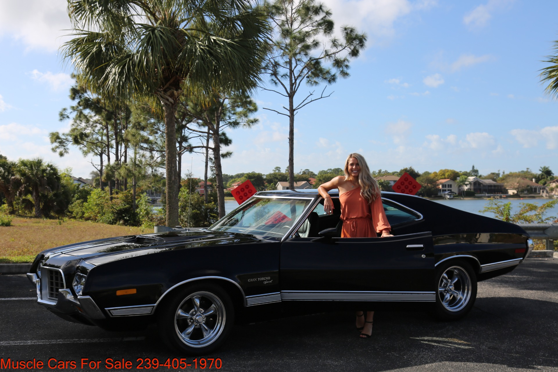Used 1972 Ford Grand Torino Sport Sport 351 Cleveland Automatic A/C for sale $24,900 at Muscle Cars for Sale Inc. in Fort Myers FL 33912 3