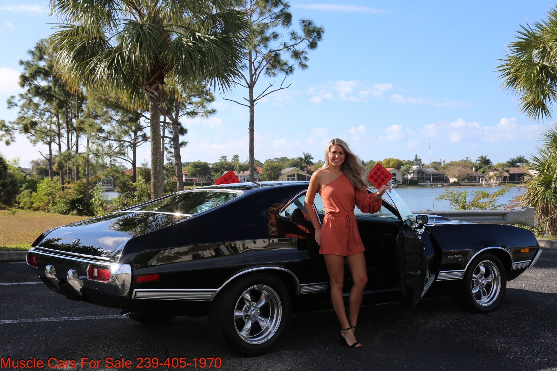 Used 1972 Ford Grand Torino Sport Sport 351 Cleveland Automatic A/C for sale $24,900 at Muscle Cars for Sale Inc. in Fort Myers FL 33912 6