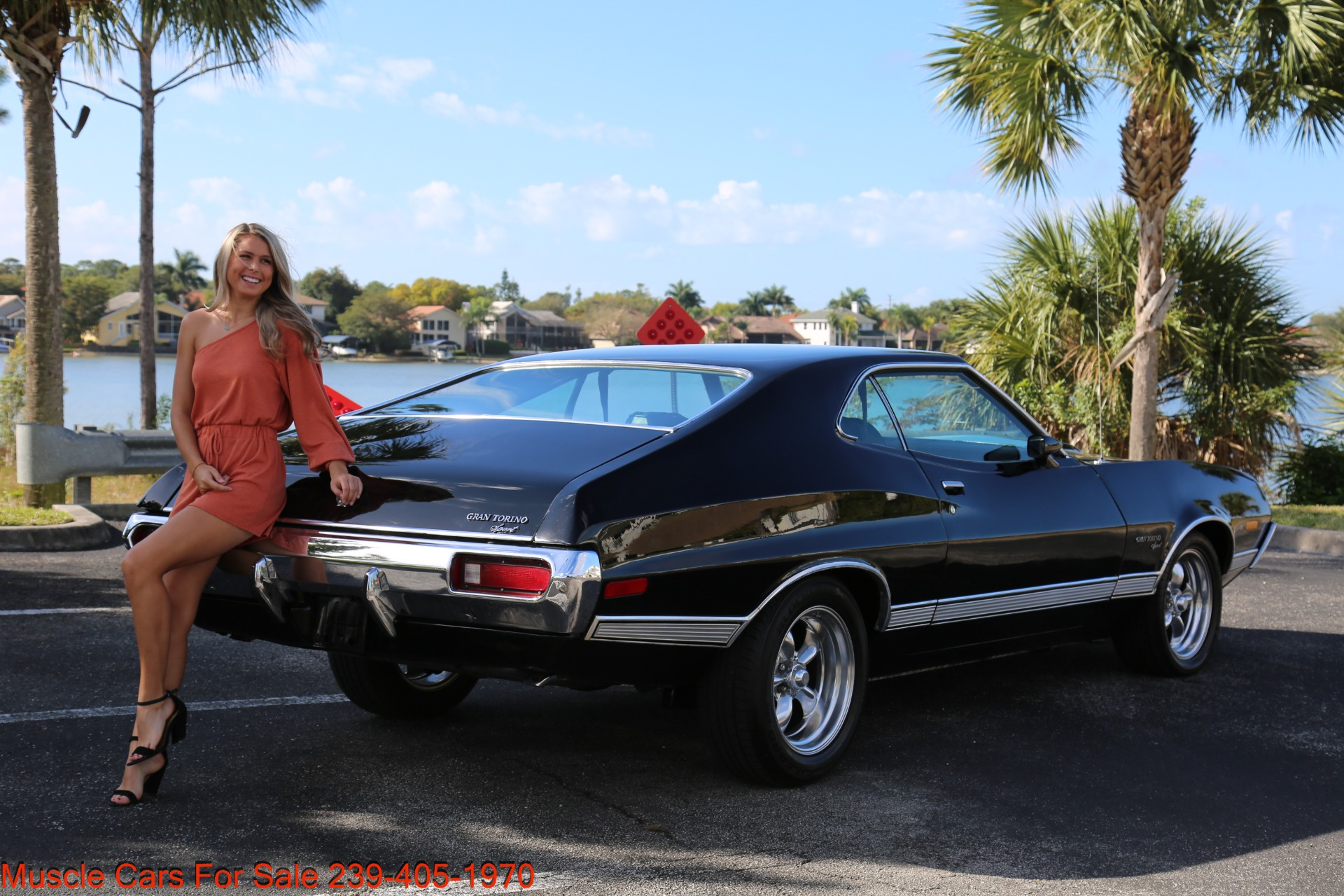 Used 1972 Ford Grand Torino Sport Sport 351 Cleveland Automatic A/C for sale $24,900 at Muscle Cars for Sale Inc. in Fort Myers FL 33912 7