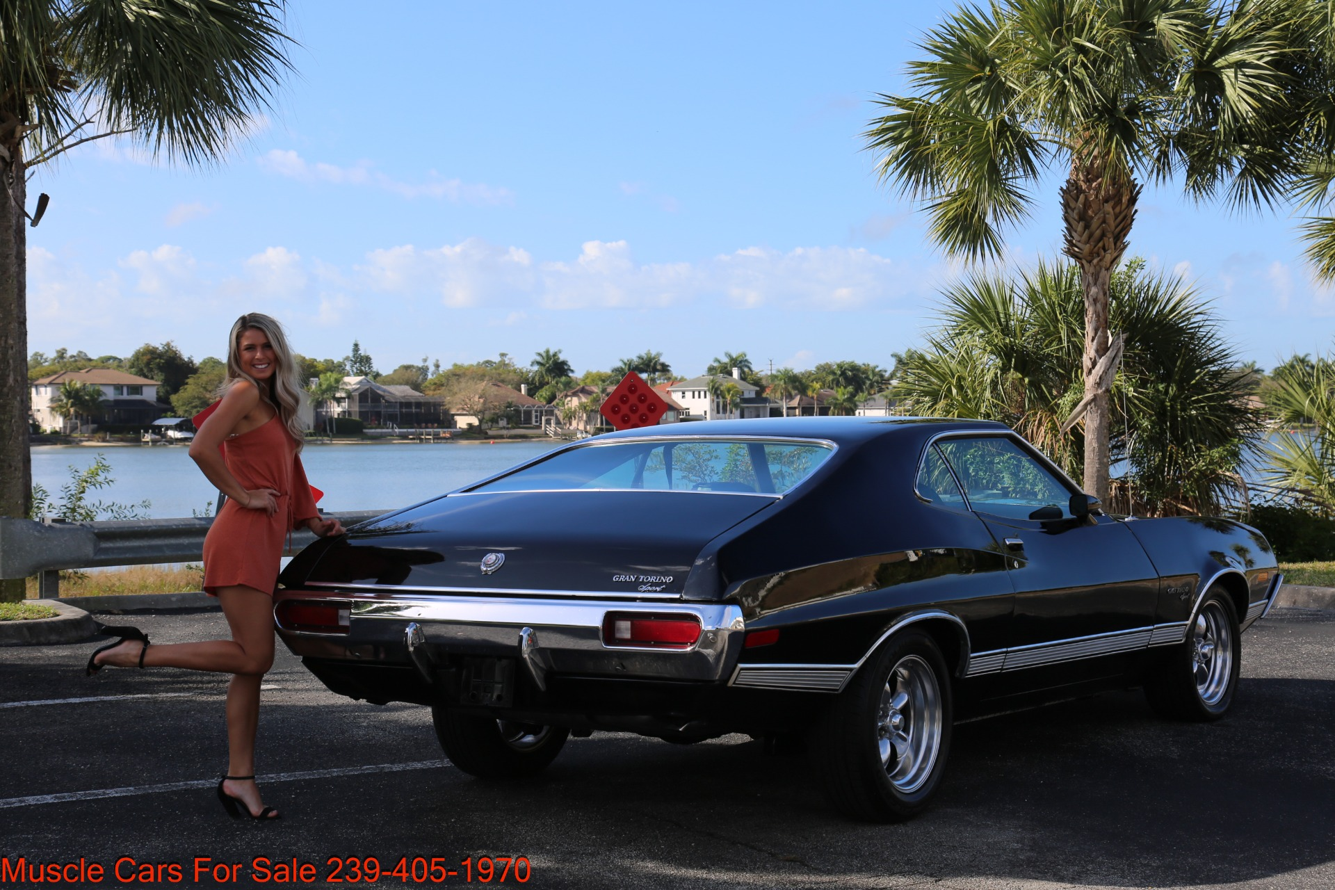 Used 1972 Ford Grand Torino Sport Sport 351 Cleveland Automatic A/C for sale $24,900 at Muscle Cars for Sale Inc. in Fort Myers FL 33912 8