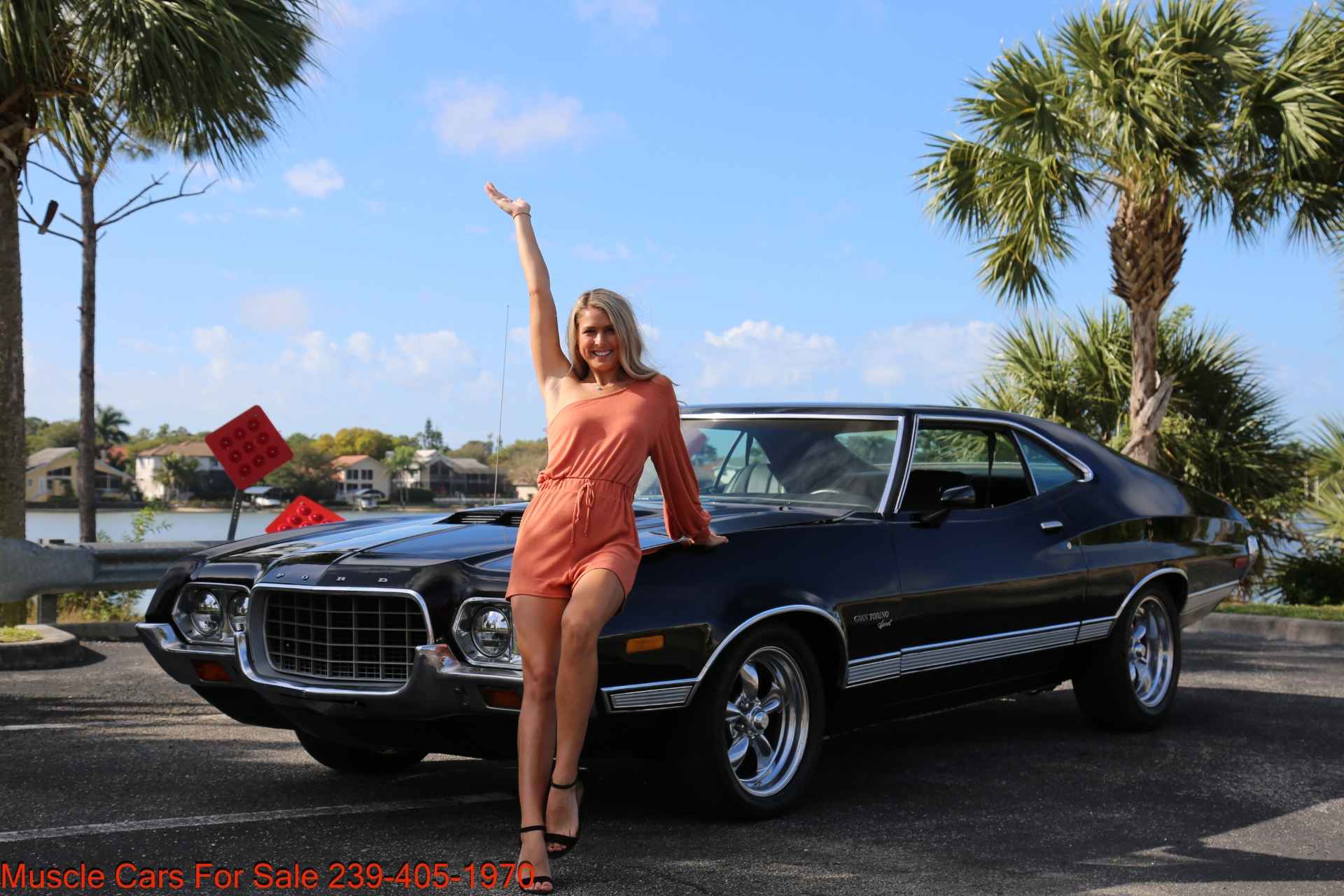 Used 1972 Ford Grand Torino Sport Sport 351 Cleveland Automatic A/C for sale $24,900 at Muscle Cars for Sale Inc. in Fort Myers FL 33912 1