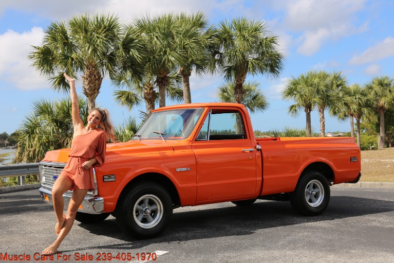 Used 1972 Chevrolet C10 Short bed for sale $24,000 at Muscle Cars for Sale Inc. in Fort Myers FL
