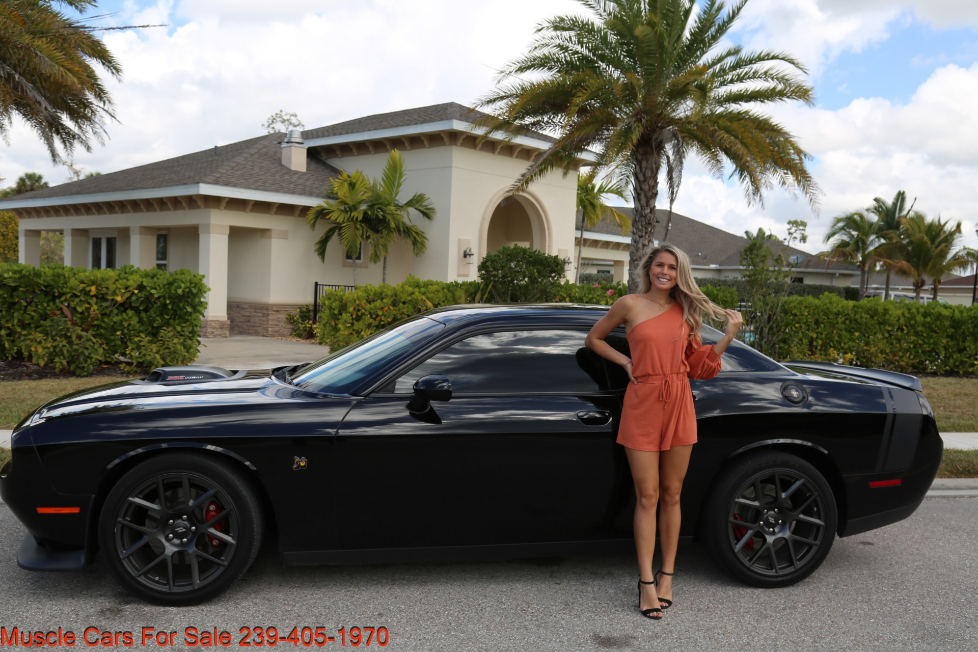 Used 2017 Dodge Challenger 392 HEMI Scat Pack Shaker for sale Sold at Muscle Cars for Sale Inc. in Fort Myers FL 33912 1