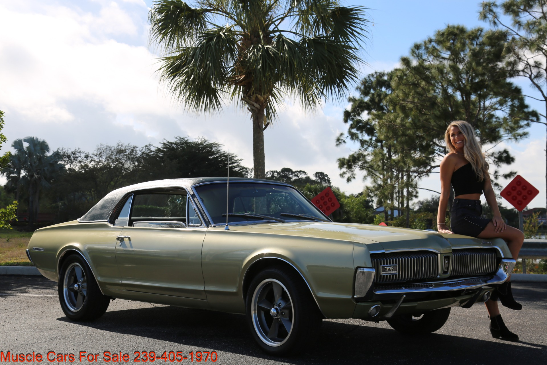 Used 1967 Mercury Cougar XR7 for sale $19,000 at Muscle Cars for Sale Inc. in Fort Myers FL 33912 6