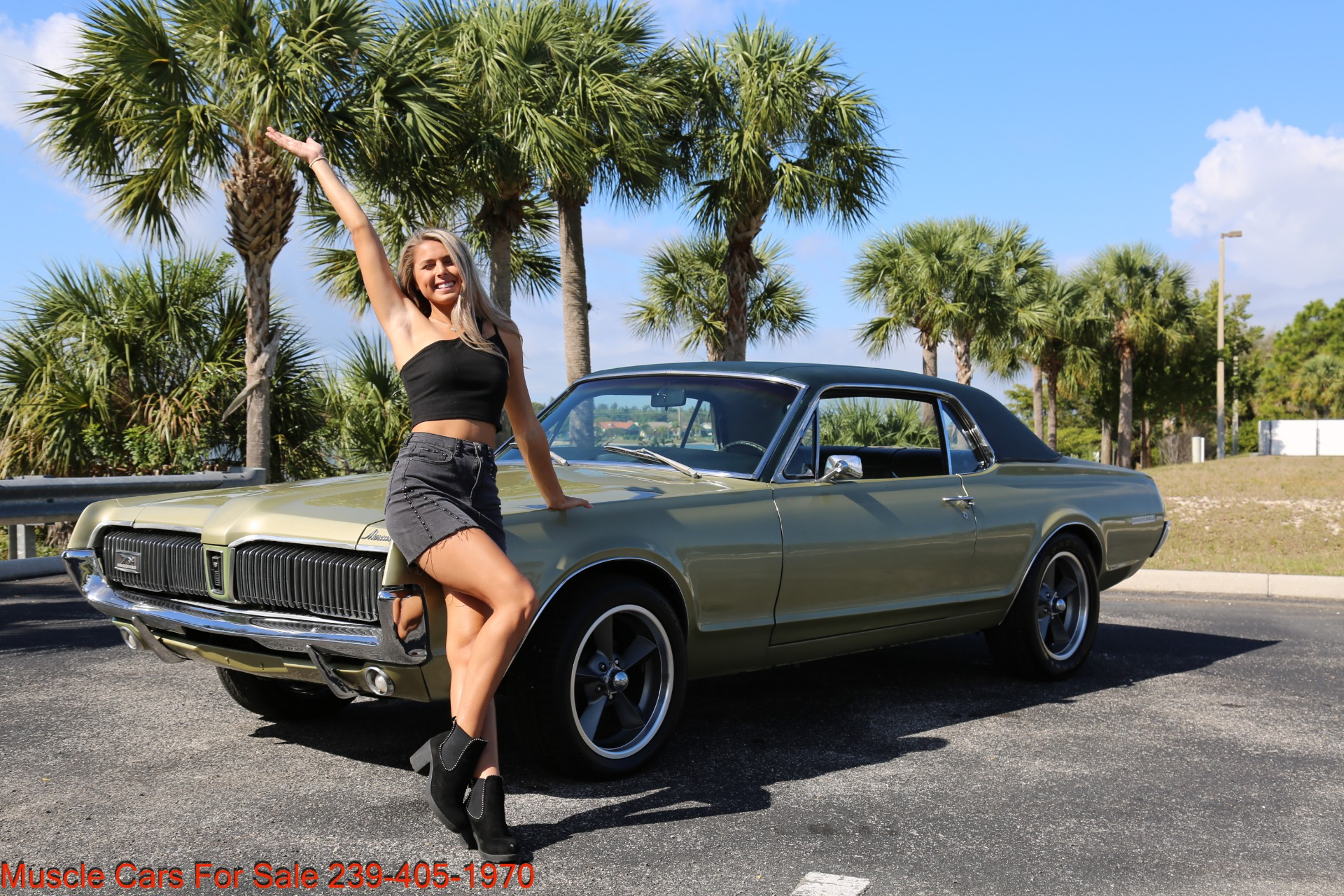 Used 1967 Mercury Cougar XR7 for sale $19,000 at Muscle Cars for Sale Inc. in Fort Myers FL 33912 1