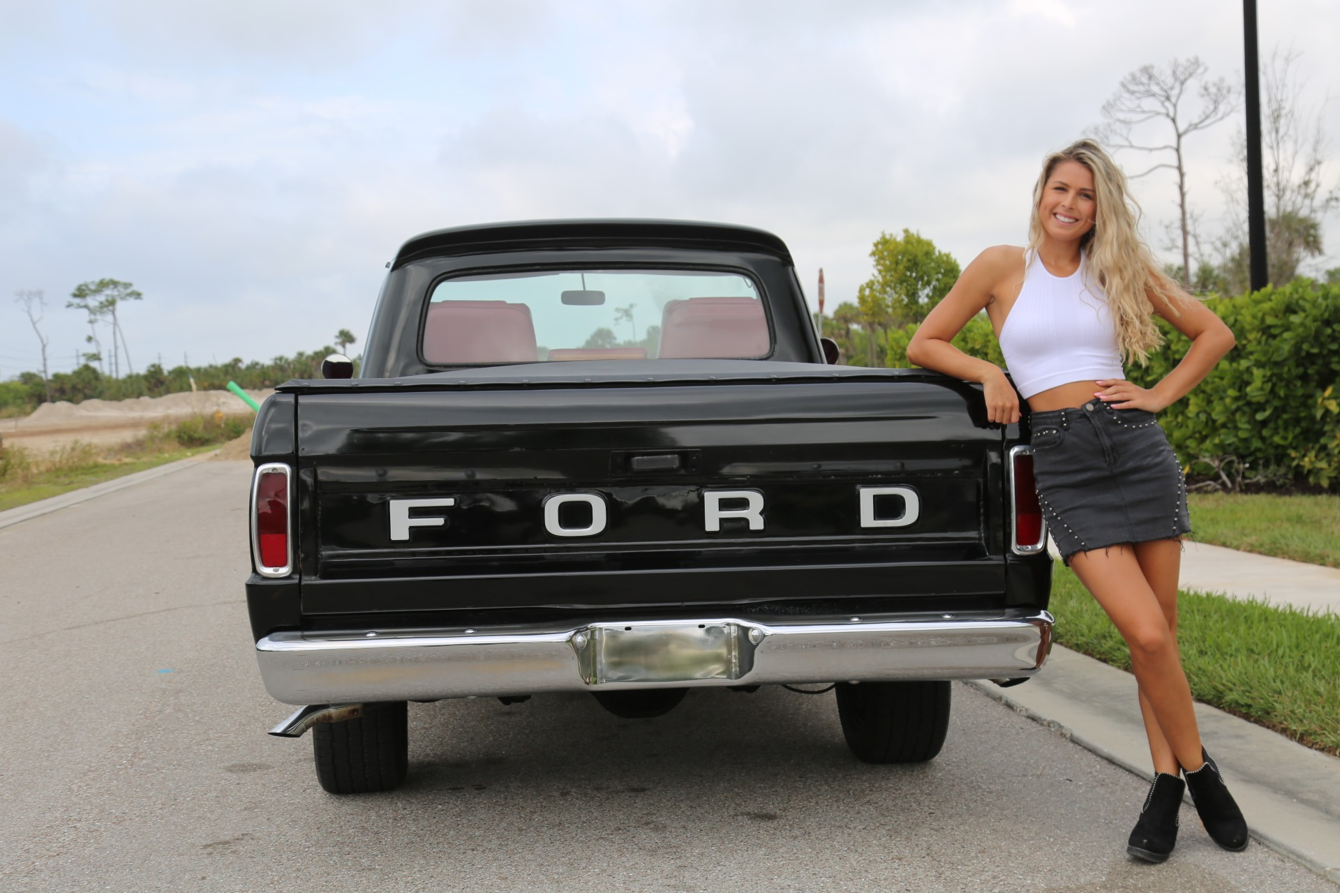 Used 1964 FORD PICKUP F100 Custom Cab for sale Sold at Muscle Cars for Sale Inc. in Fort Myers FL 33912 8