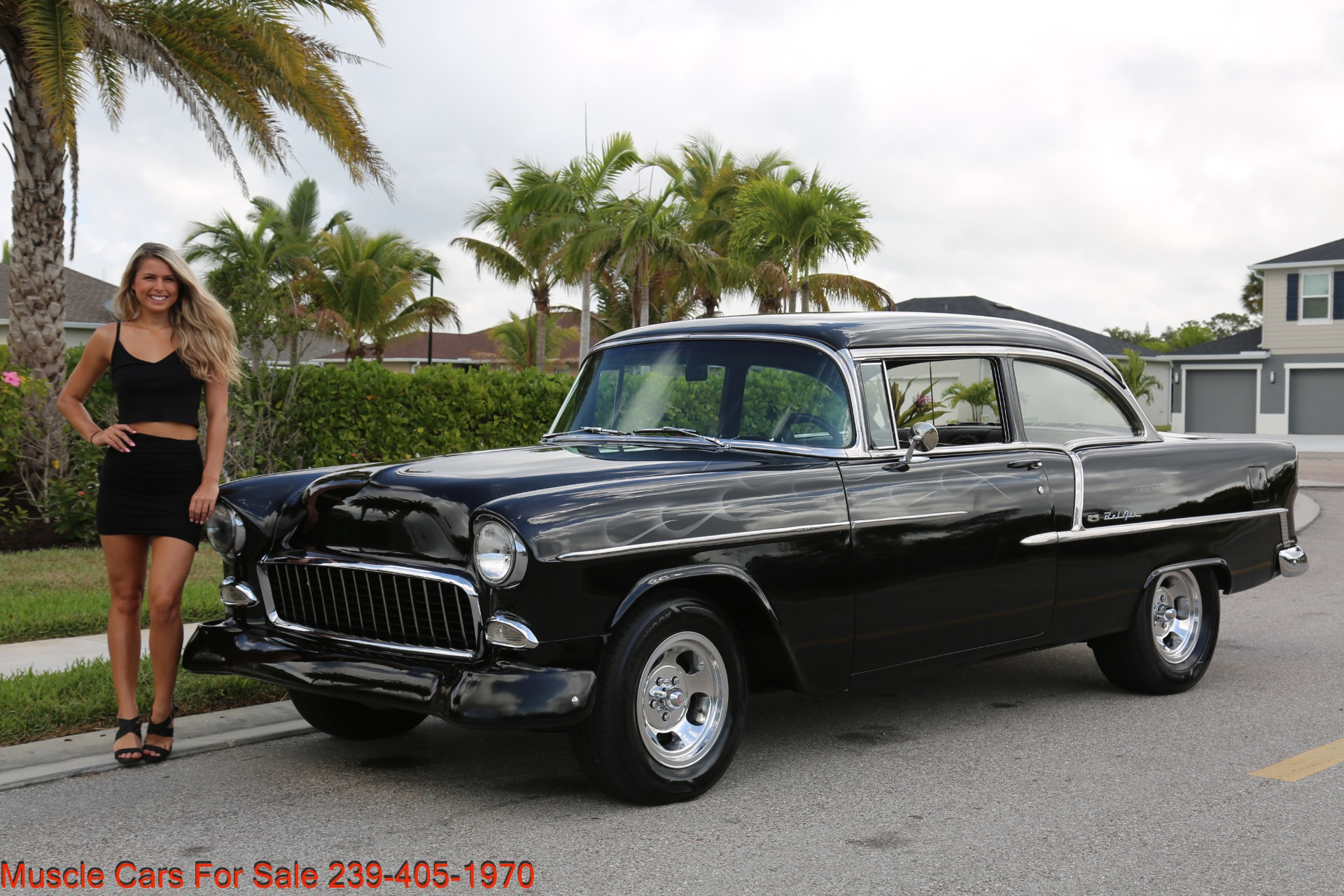 Used 1955 Chevrolet 210 Belair for sale $34,500 at Muscle Cars for Sale Inc. in Fort Myers FL 33912 4