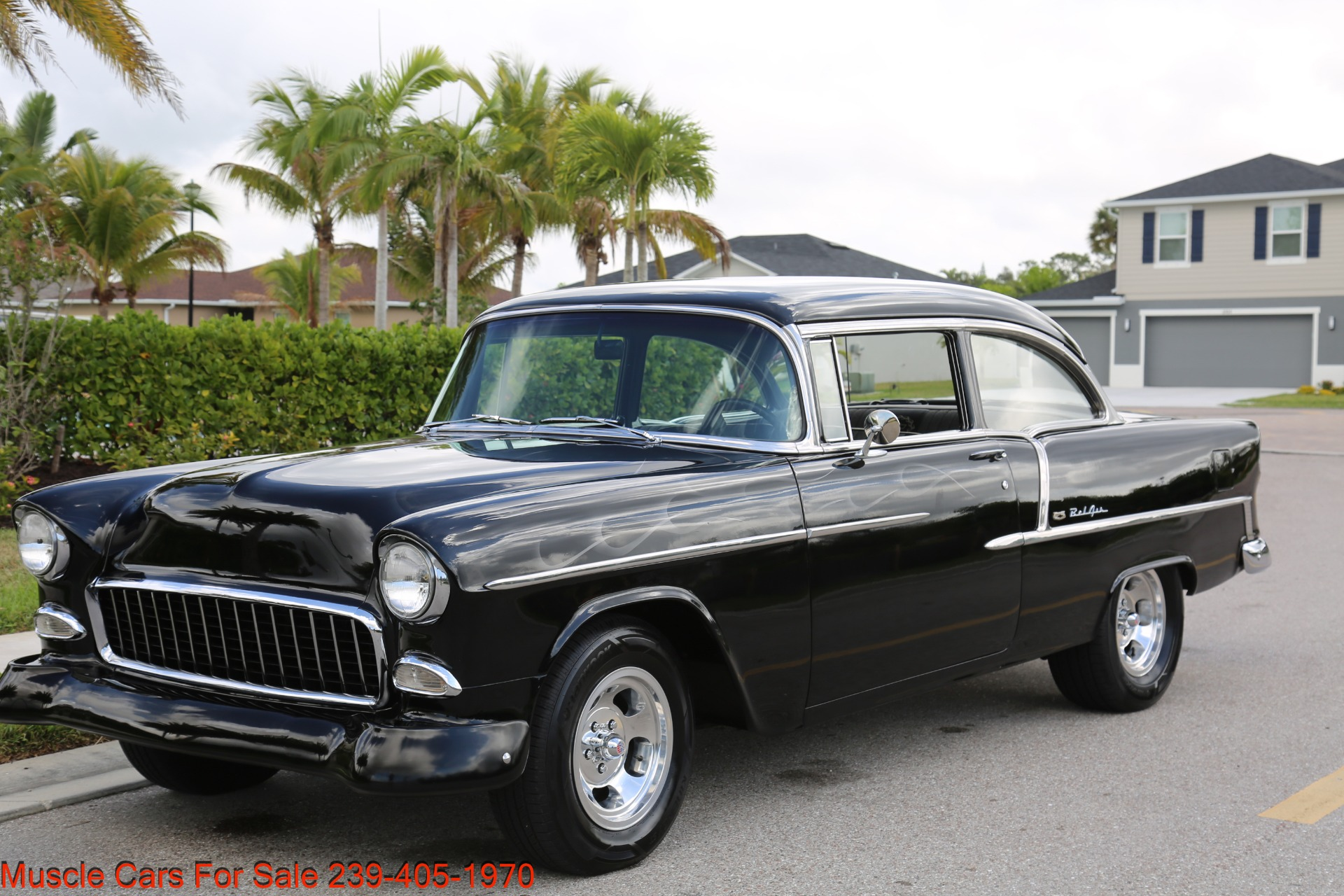 Used 1955 Chevrolet 210 Belair for sale $34,500 at Muscle Cars for Sale Inc. in Fort Myers FL 33912 6