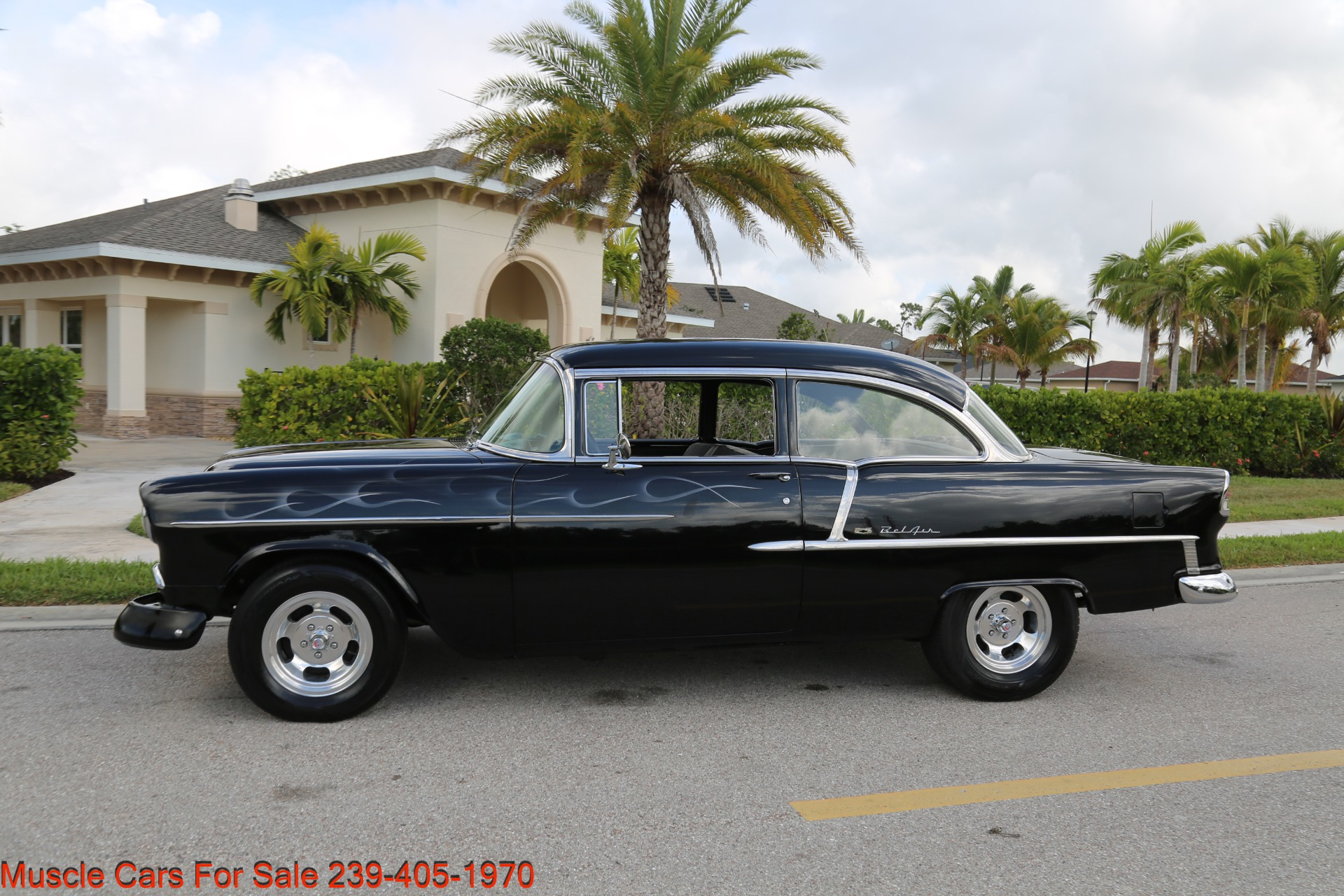 Used 1955 Chevrolet 210 Belair for sale $34,500 at Muscle Cars for Sale Inc. in Fort Myers FL 33912 8