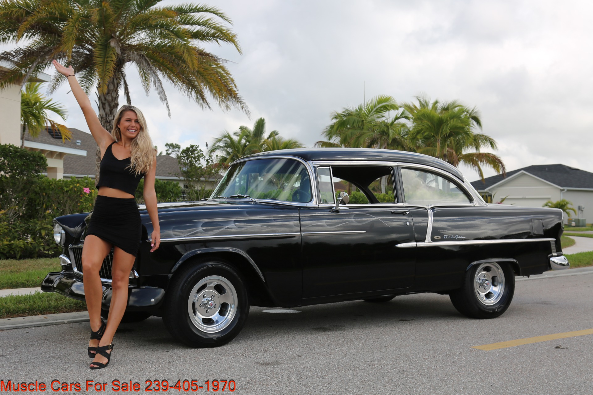 Used 1955 Chevrolet 210 Belair for sale $34,500 at Muscle Cars for Sale Inc. in Fort Myers FL 33912 1