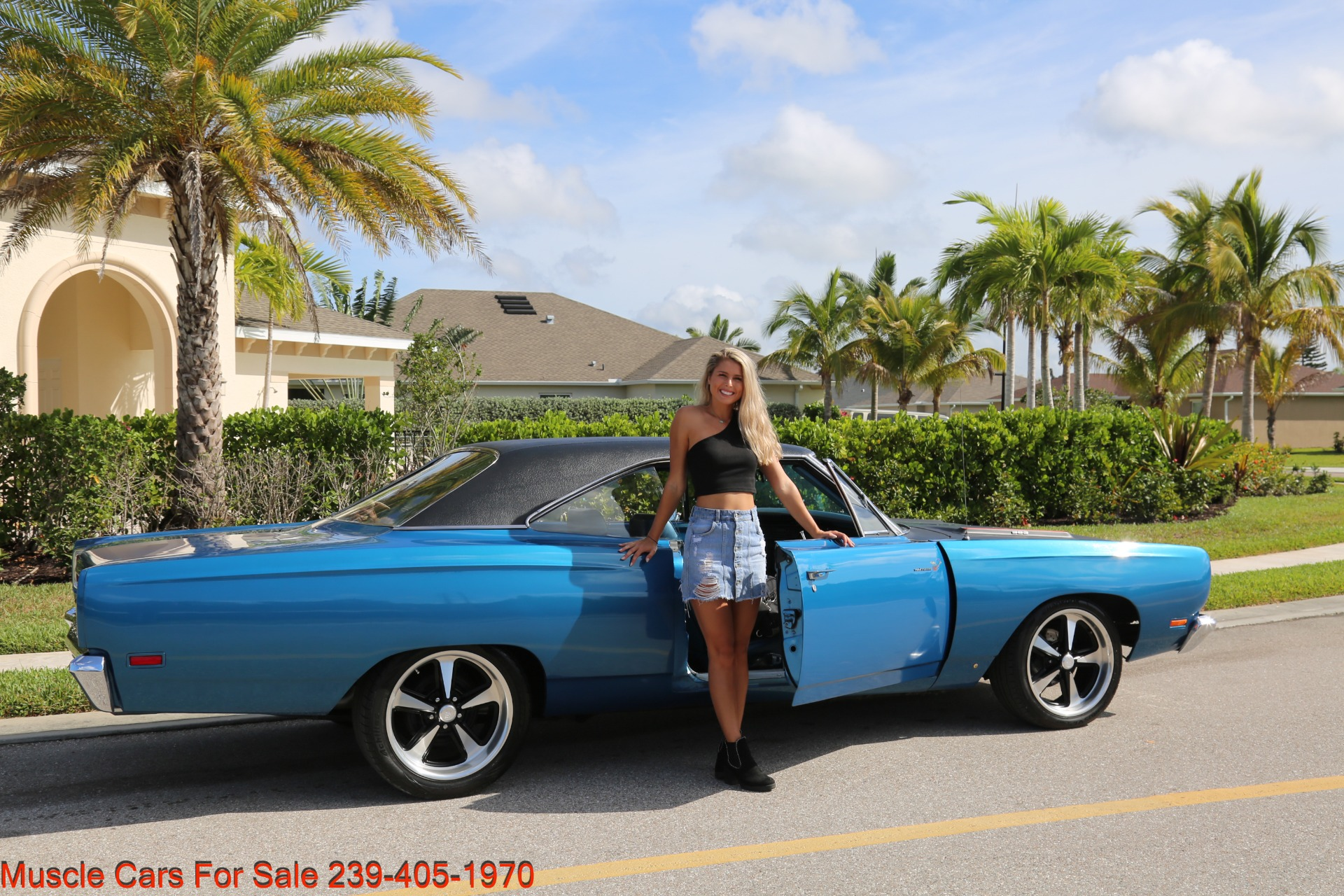Used 1969 Plymouth Road Runner Road Runner for sale Sold at Muscle Cars for Sale Inc. in Fort Myers FL 33912 3