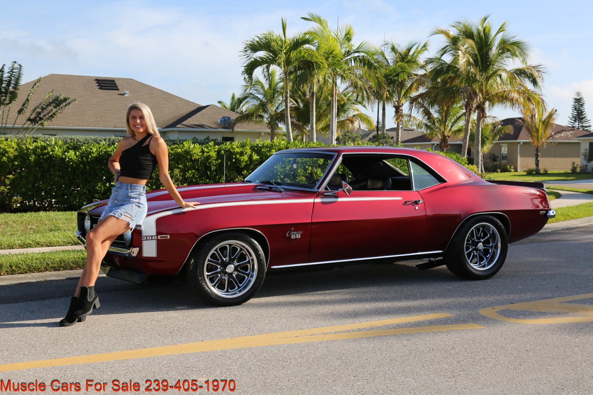 Used 1969 Chevrolet Camaro 454 4 Speed 12 Bolt Posi for sale $41,000 at Muscle Cars for Sale Inc. in Fort Myers FL 33912 2