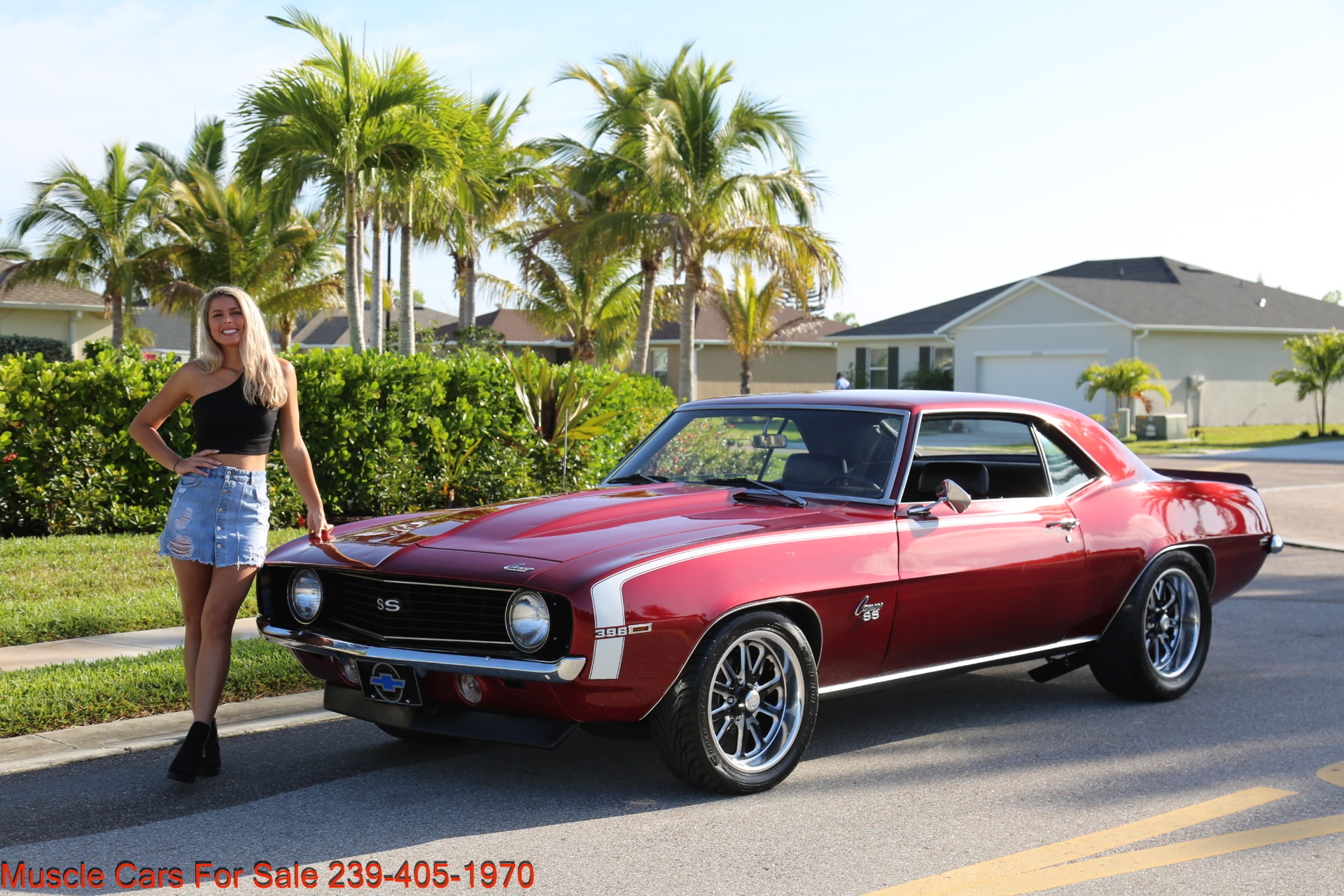 Used 1969 Chevrolet Camaro 454 4 Speed 12 Bolt Posi for sale $41,000 at Muscle Cars for Sale Inc. in Fort Myers FL 33912 4
