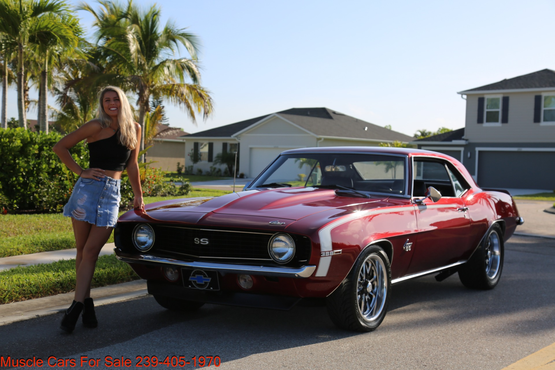 Used 1969 Chevrolet Camaro 454 4 Speed 12 Bolt Posi for sale $41,000 at Muscle Cars for Sale Inc. in Fort Myers FL 33912 5