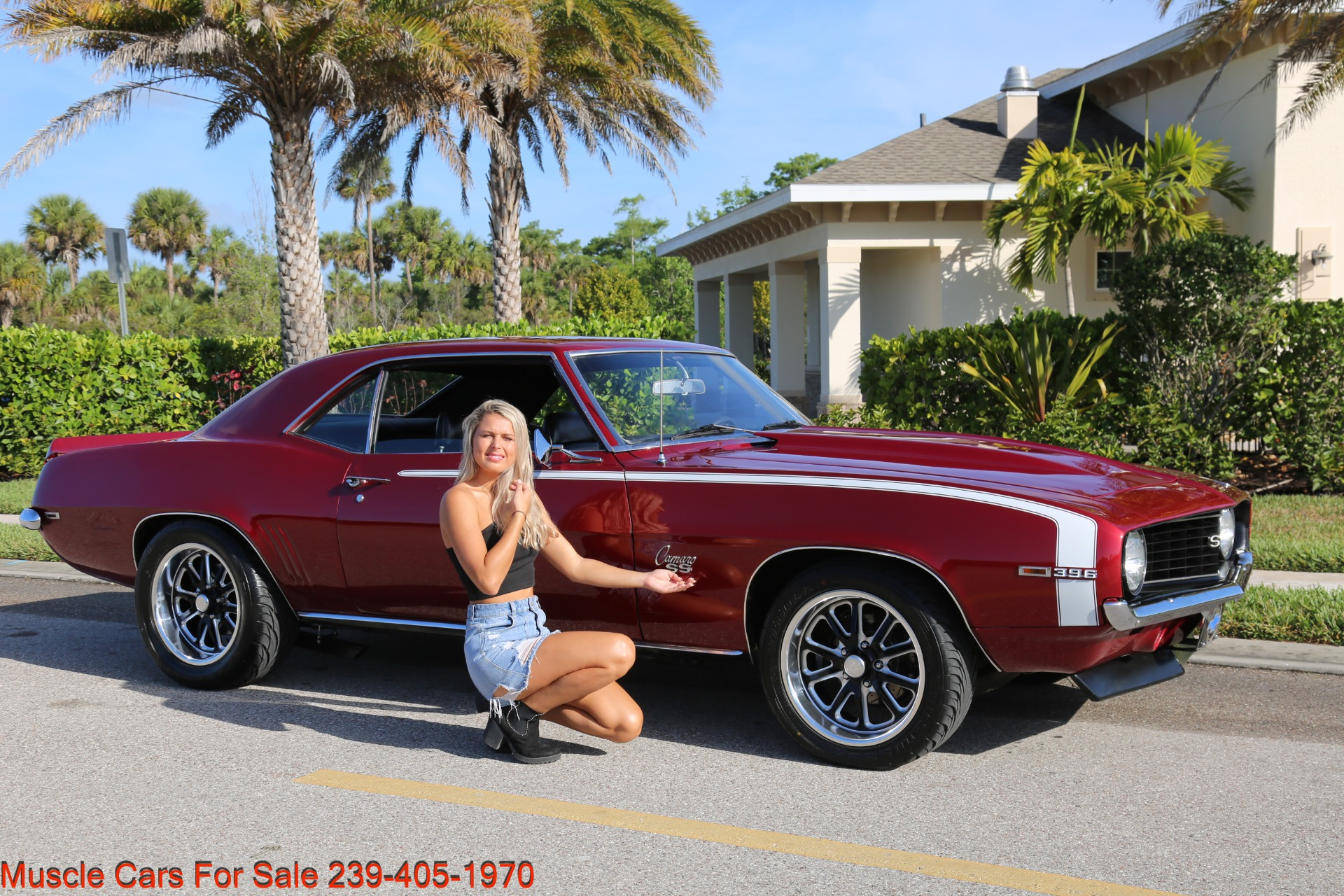 Used 1969 Chevrolet Camaro 454 4 Speed 12 Bolt Posi for sale $41,000 at Muscle Cars for Sale Inc. in Fort Myers FL 33912 1