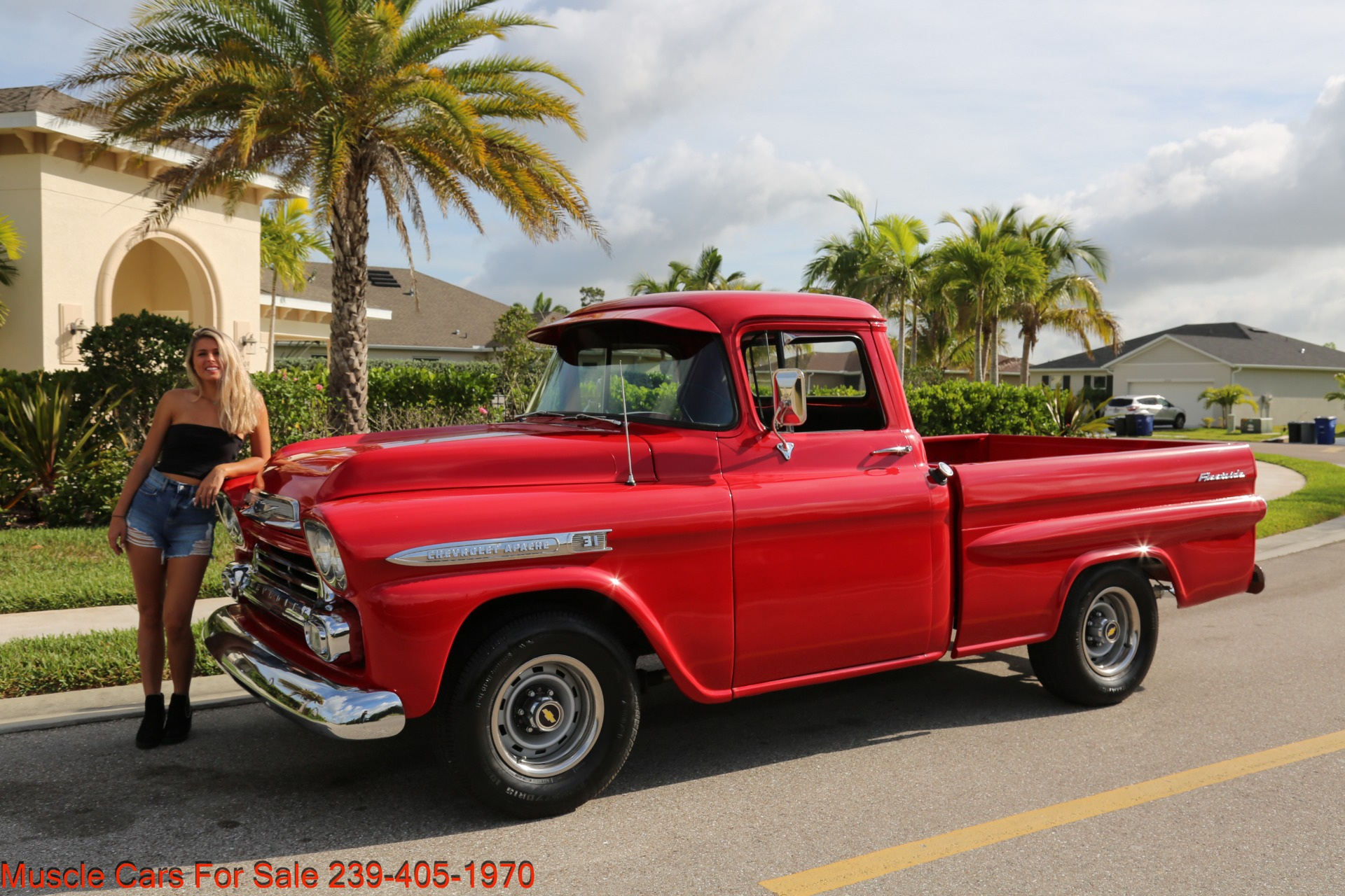 Used 1959 Chevrolet Apache for sale Sold at Muscle Cars for Sale Inc. in Fort Myers FL 33912 3