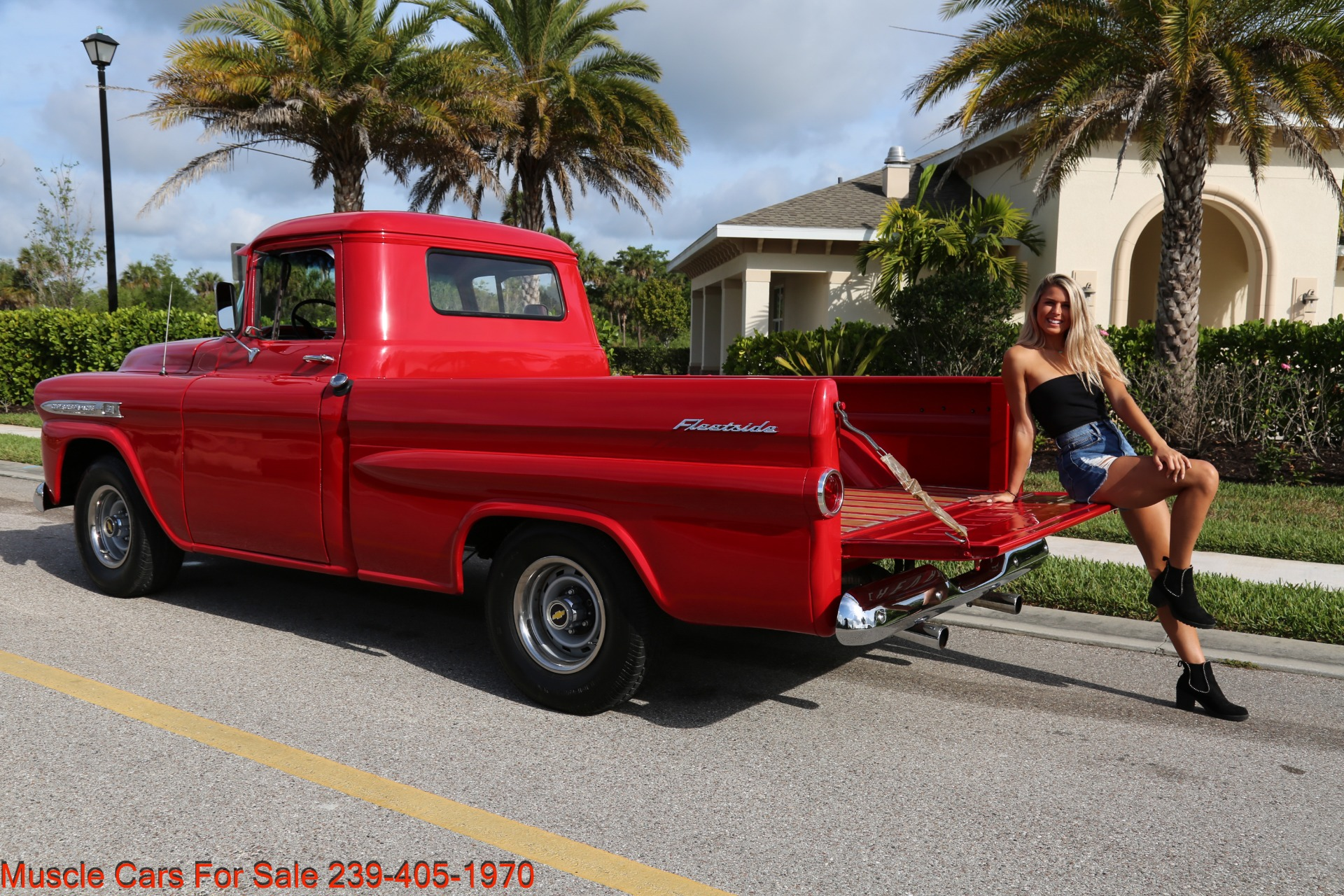 Used 1959 Chevrolet Apache for sale Sold at Muscle Cars for Sale Inc. in Fort Myers FL 33912 5