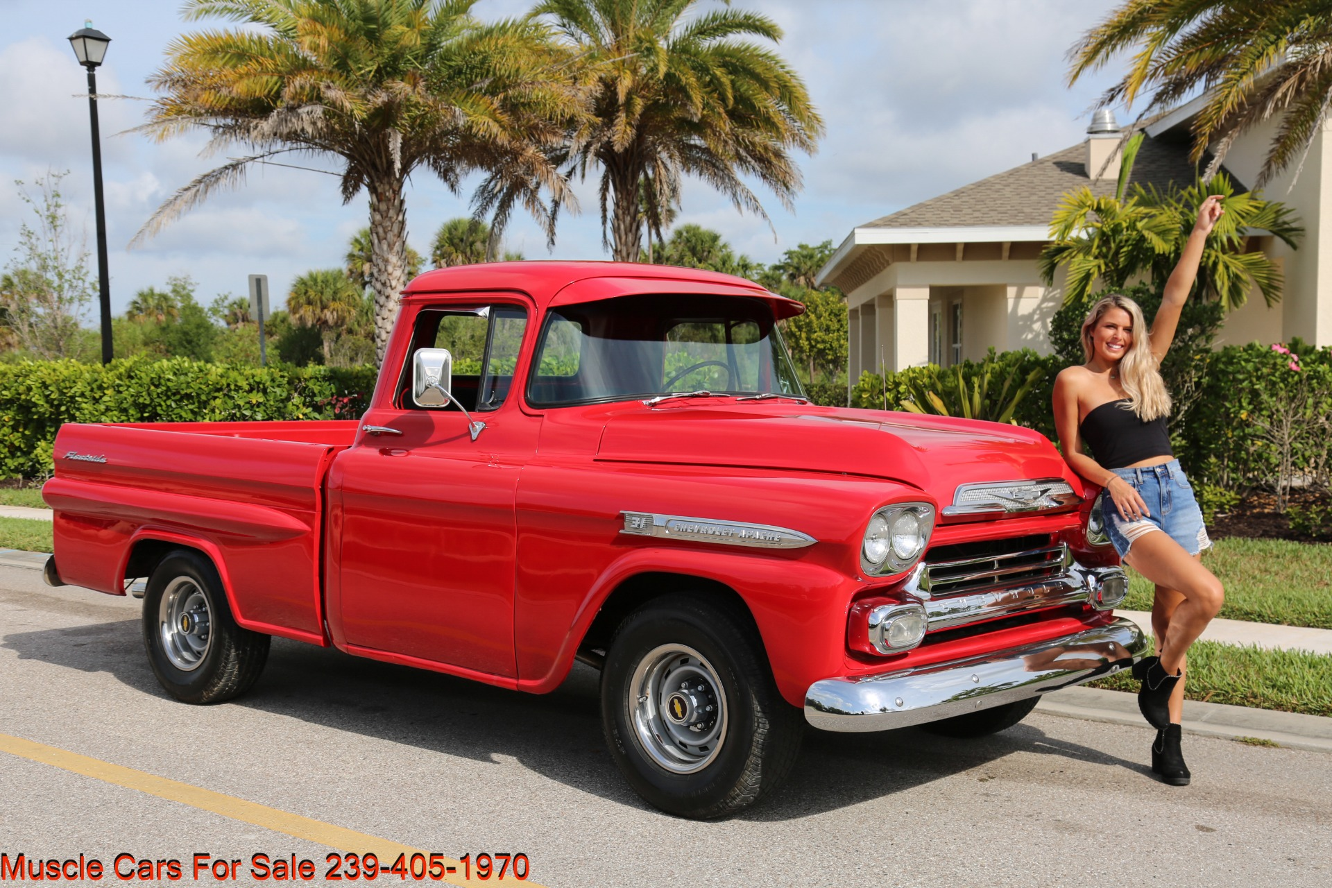 Used 1959 Chevrolet Apache for sale Sold at Muscle Cars for Sale Inc. in Fort Myers FL 33912 1
