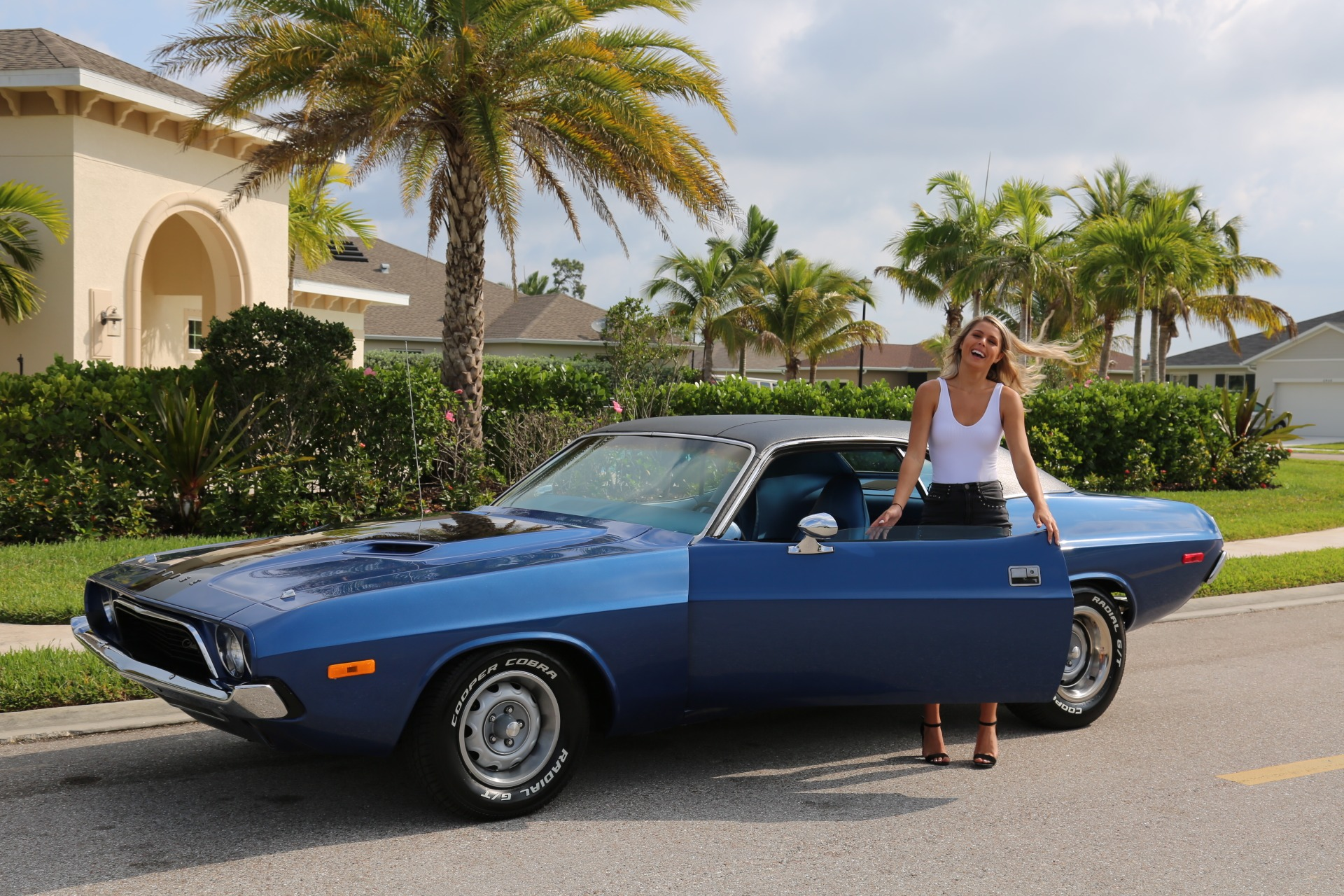 Used 1973 Dodge Challenger 360 V8 Automatic for sale Sold at Muscle Cars for Sale Inc. in Fort Myers FL 33912 2