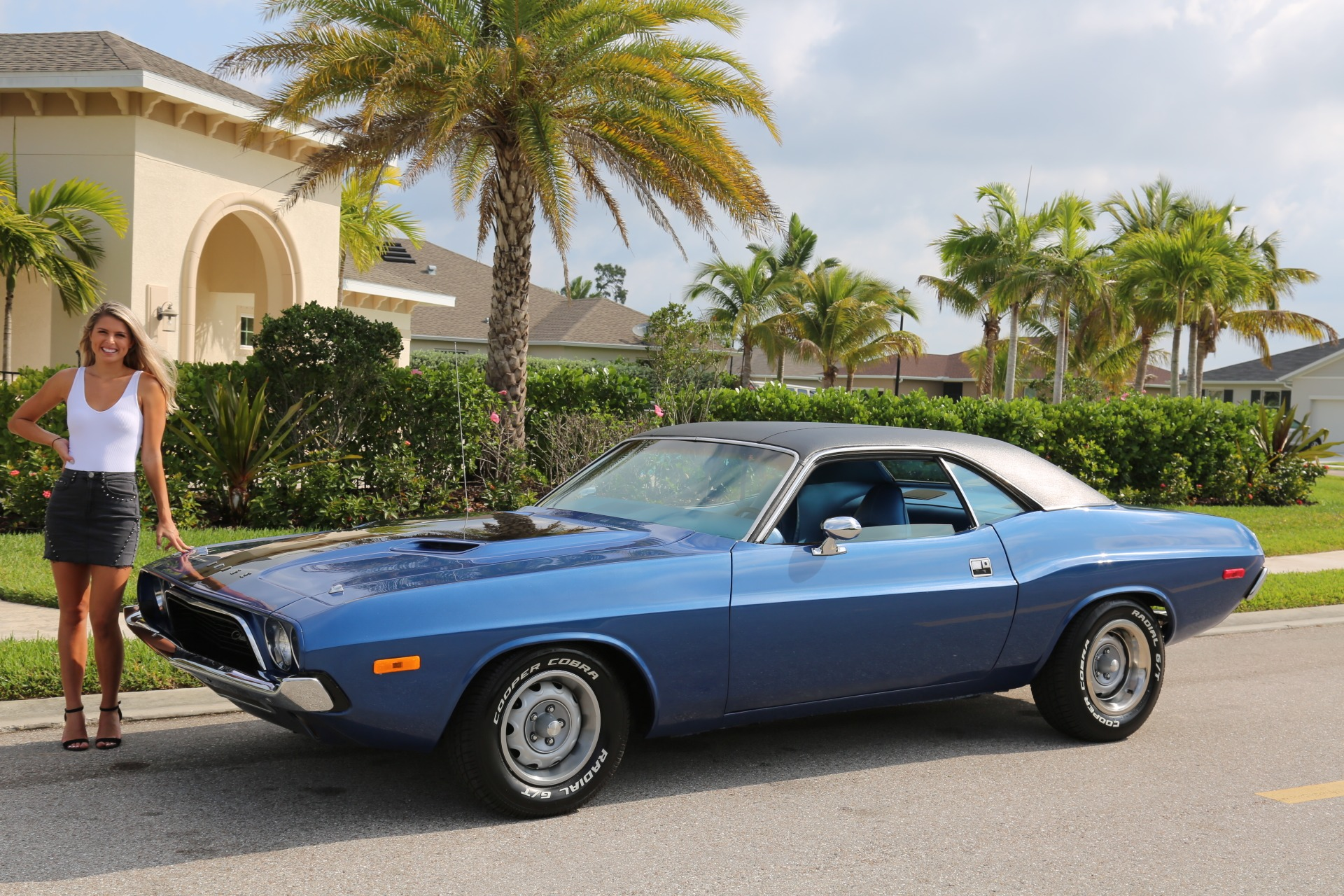 Used 1973 Dodge Challenger 360 V8 Automatic for sale Sold at Muscle Cars for Sale Inc. in Fort Myers FL 33912 1
