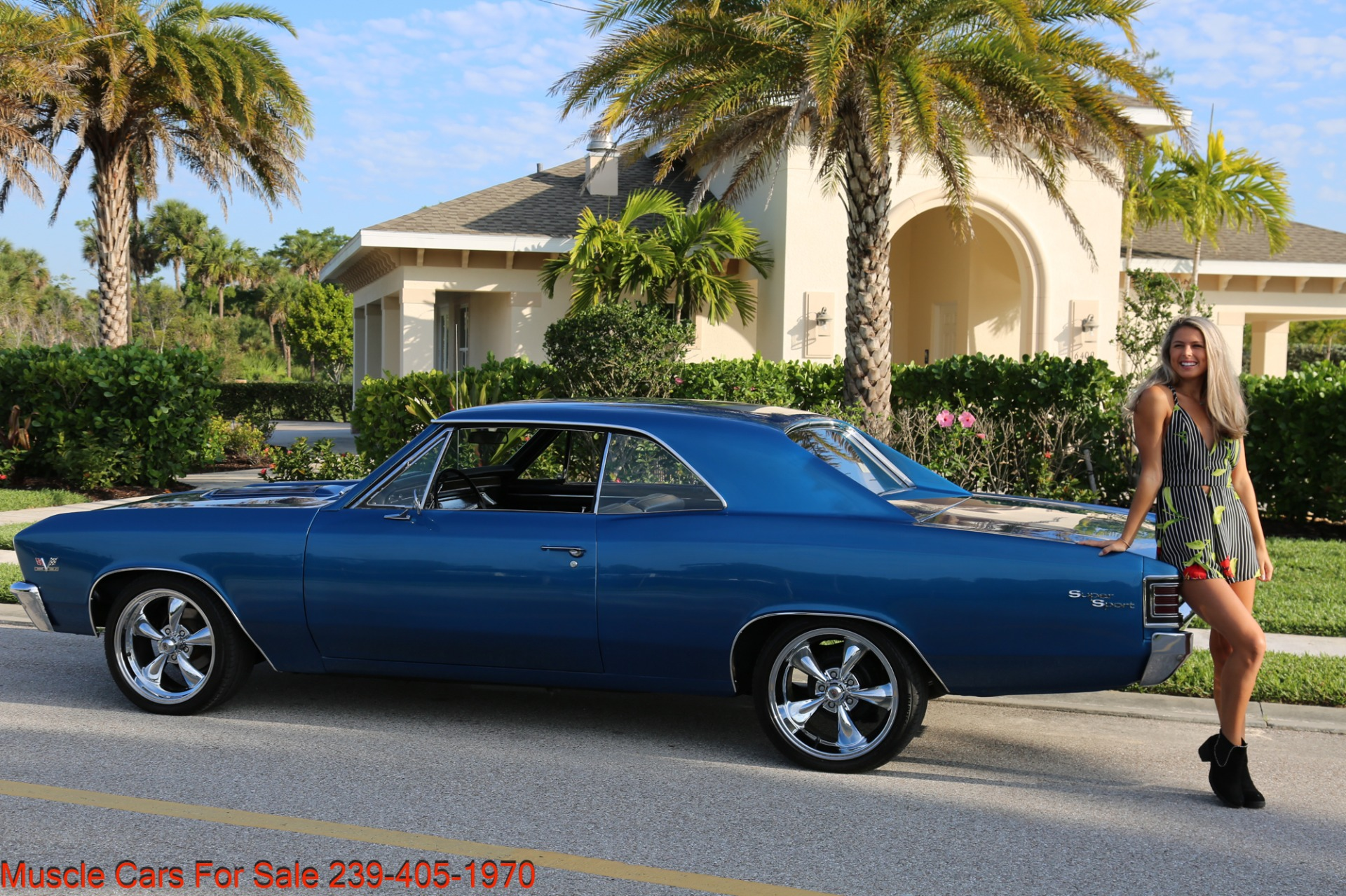 Used 1967 Chevrolet Chevelle  Malibu Chevelle for sale Sold at Muscle Cars for Sale Inc. in Fort Myers FL 33912 3