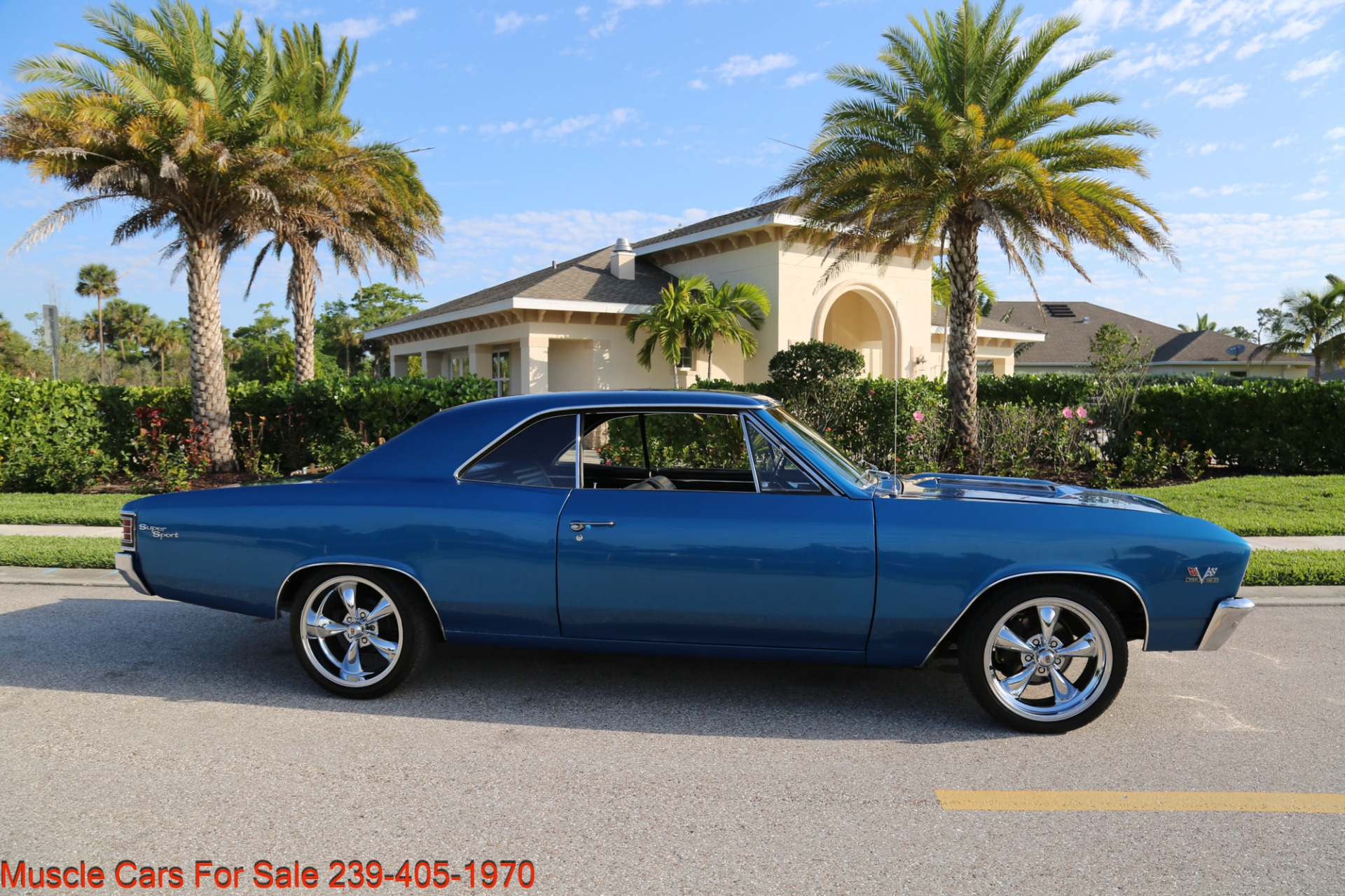 Used 1967 Chevrolet Chevelle  Malibu Chevelle for sale Sold at Muscle Cars for Sale Inc. in Fort Myers FL 33912 5