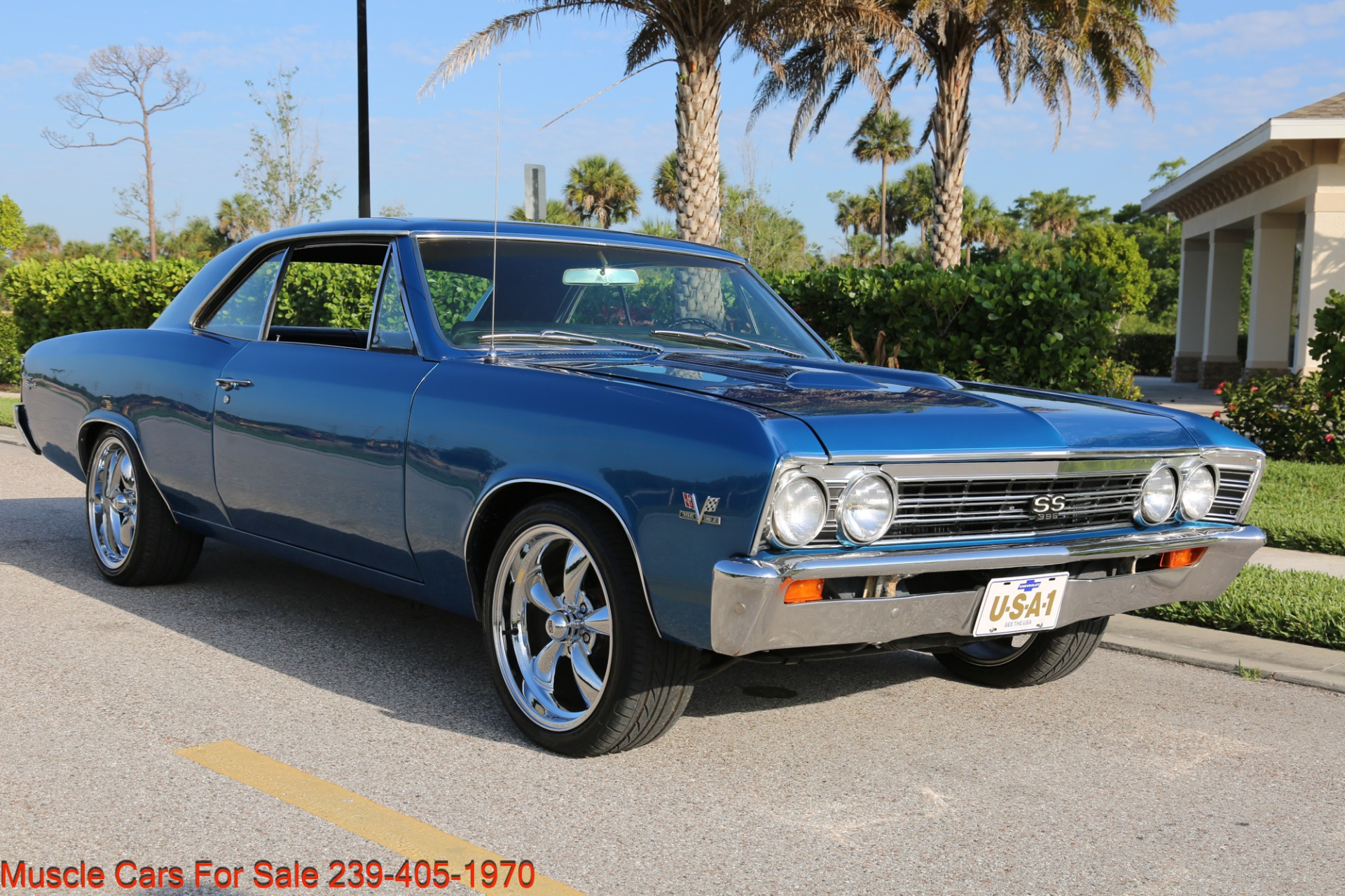 Used 1967 Chevrolet Chevelle  Malibu Chevelle for sale Sold at Muscle Cars for Sale Inc. in Fort Myers FL 33912 6