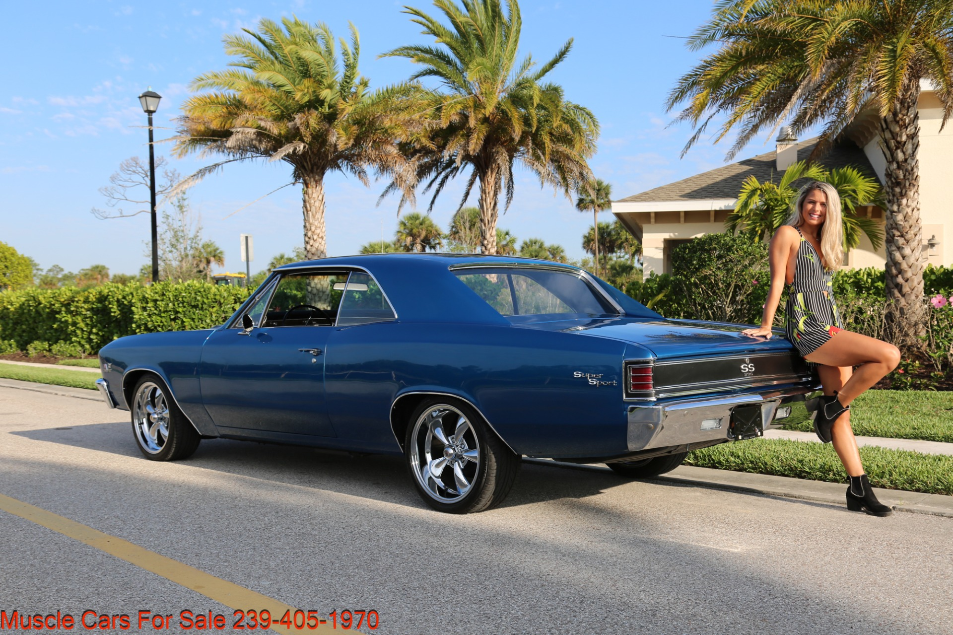 Used 1967 Chevrolet Chevelle  Malibu Chevelle for sale Sold at Muscle Cars for Sale Inc. in Fort Myers FL 33912 7