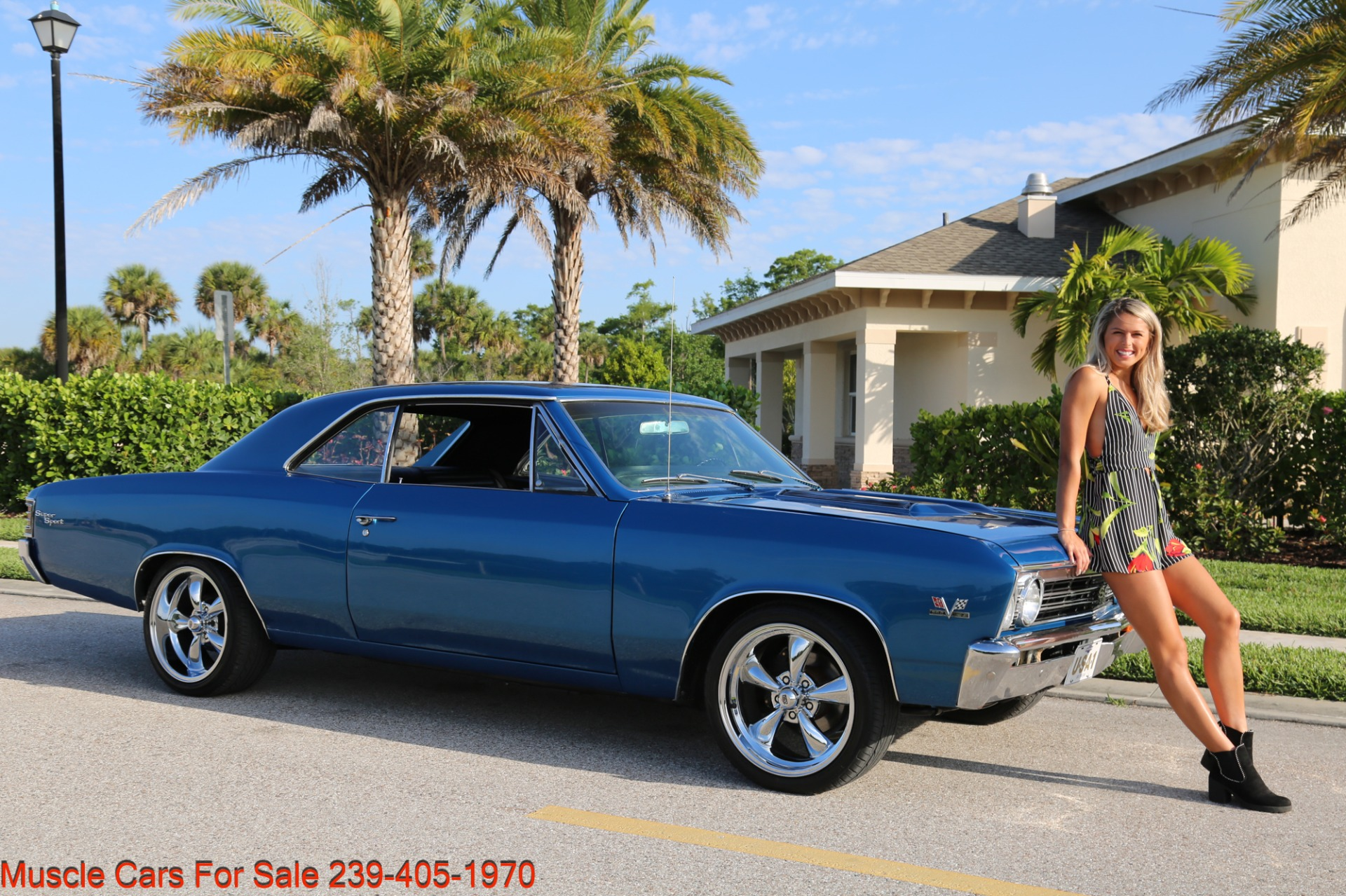 Used 1967 Chevrolet Chevelle  Malibu Chevelle for sale Sold at Muscle Cars for Sale Inc. in Fort Myers FL 33912 1