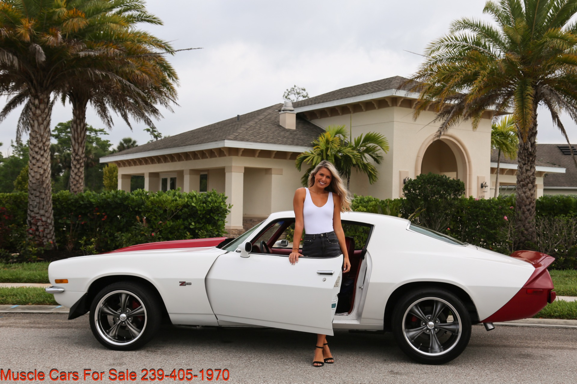 Used 1973 Chevrolet Camaro Z28 Z28 for sale Sold at Muscle Cars for Sale Inc. in Fort Myers FL 33912 3