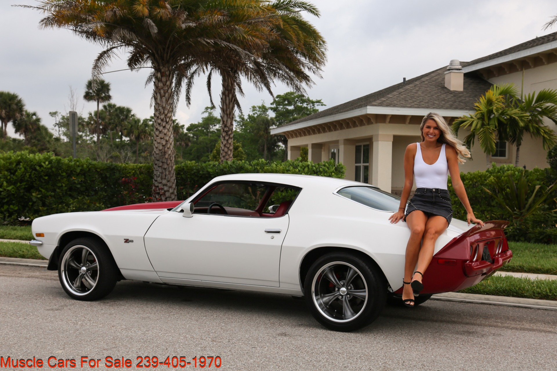 Used 1973 Chevrolet Camaro Z28 Z28 for sale Sold at Muscle Cars for Sale Inc. in Fort Myers FL 33912 4