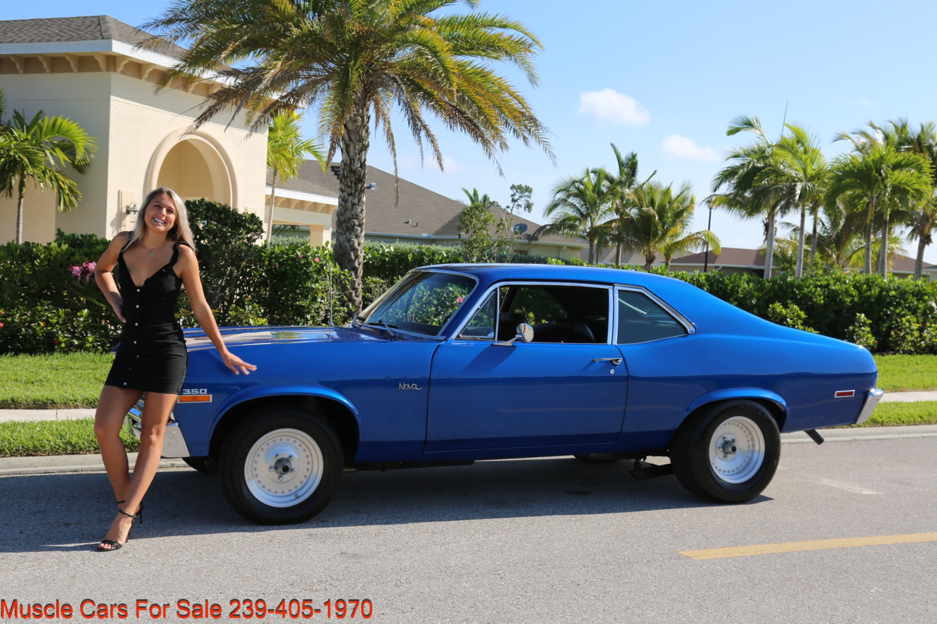 Used 1971 Chevrolet Nova SS for sale Sold at Muscle Cars for Sale Inc. in Fort Myers FL 33912 2