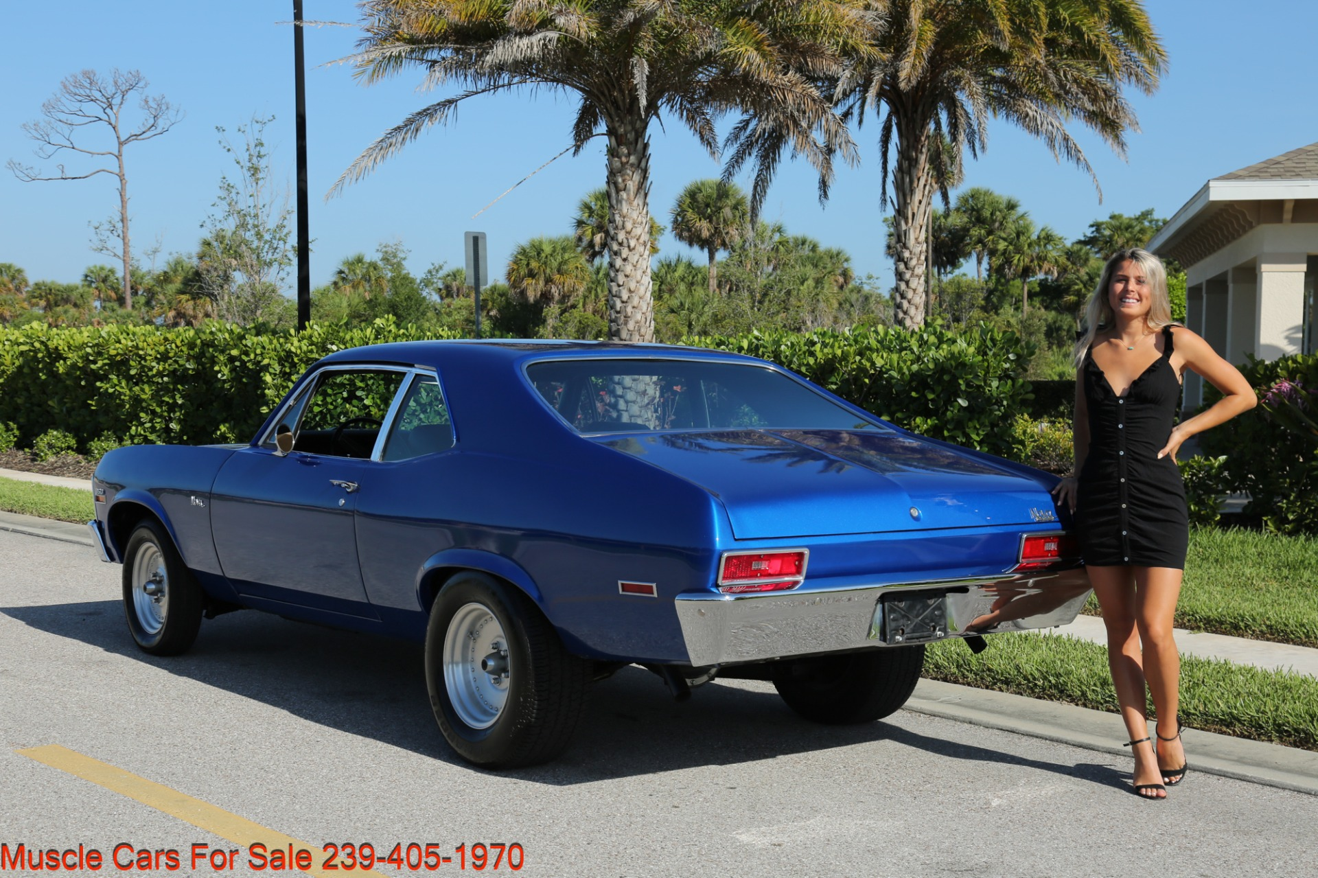 Used 1971 Chevrolet Nova SS for sale Sold at Muscle Cars for Sale Inc. in Fort Myers FL 33912 5