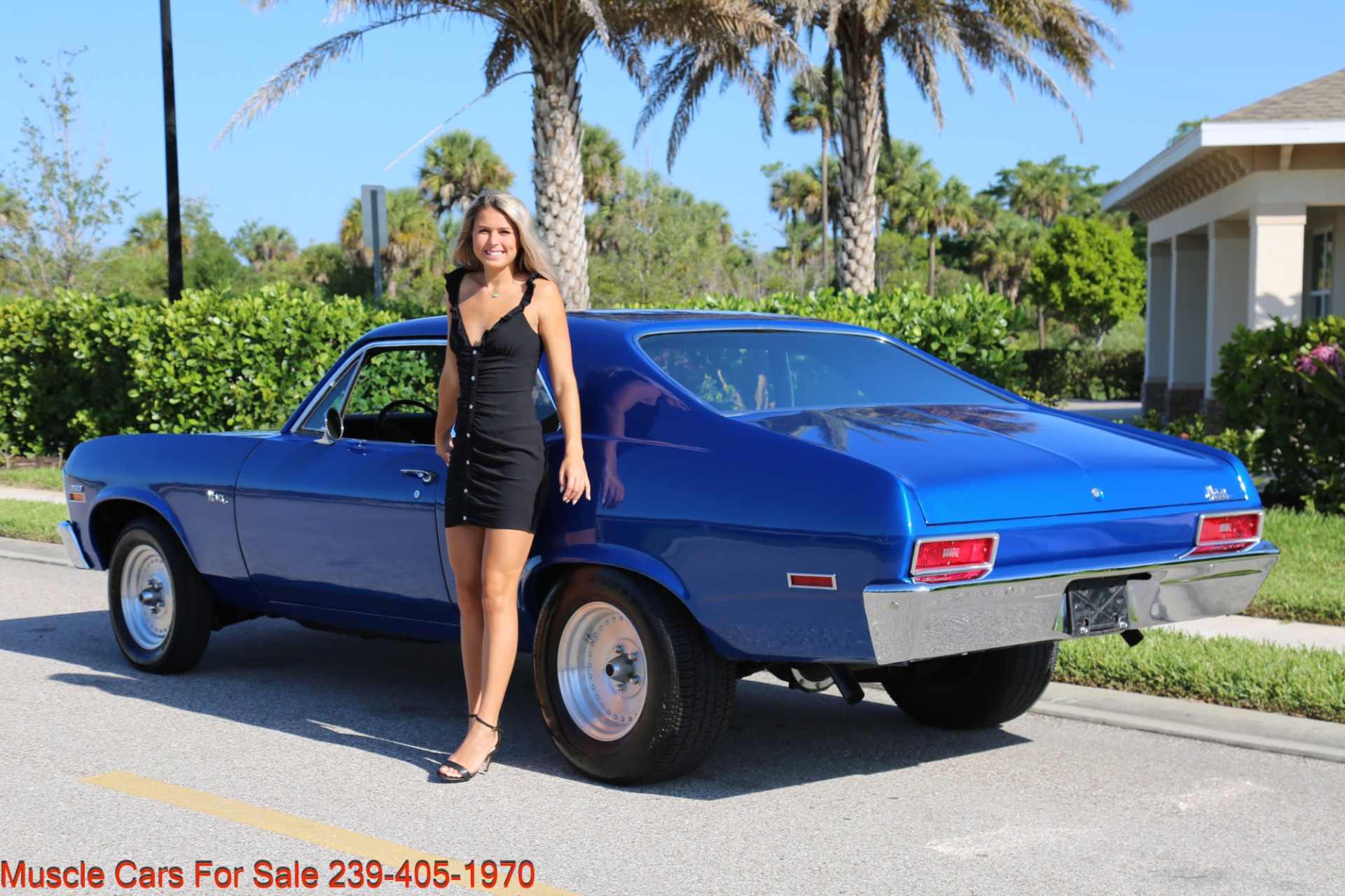 Used 1971 Chevrolet Nova SS for sale Sold at Muscle Cars for Sale Inc. in Fort Myers FL 33912 7