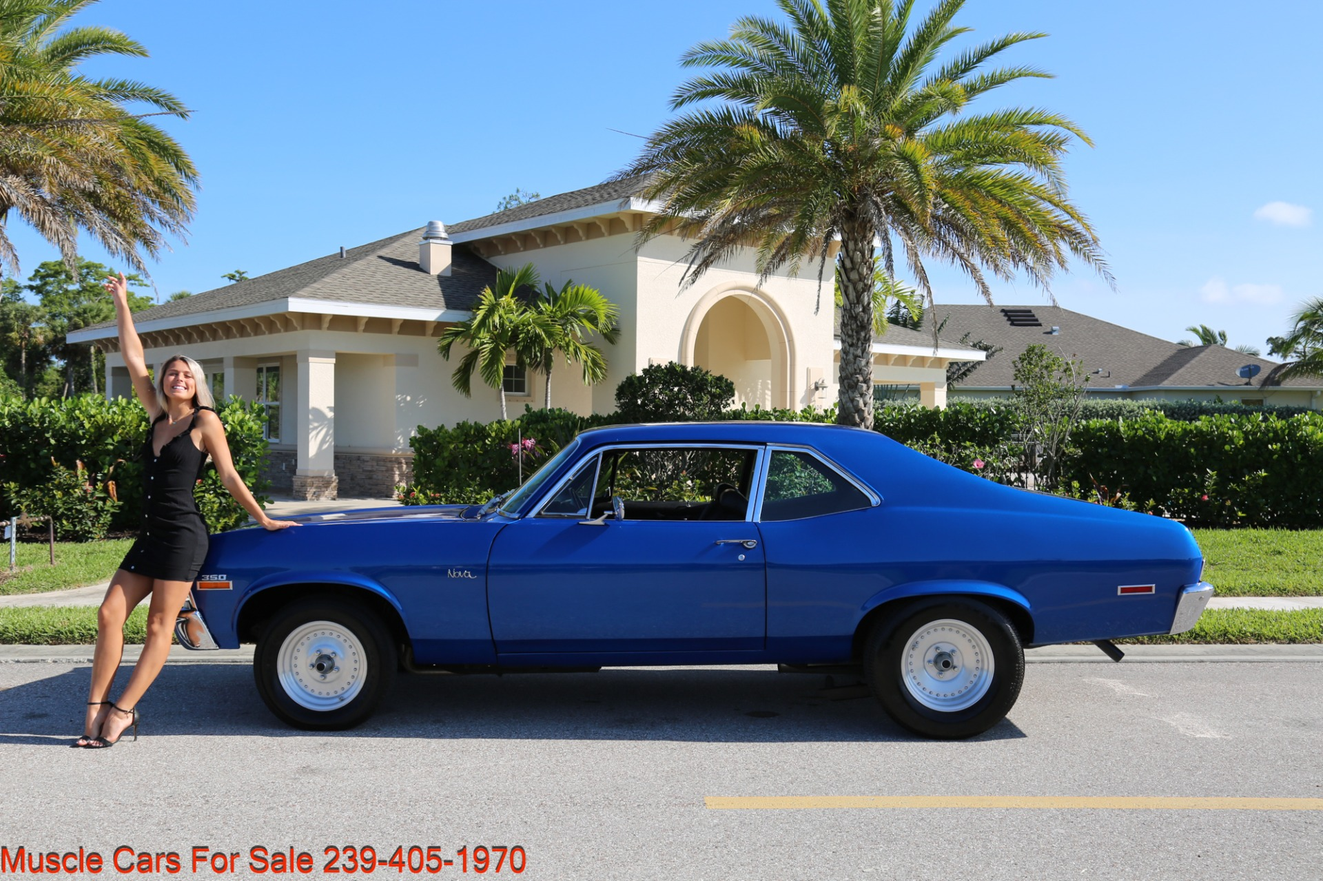 Used 1971 Chevrolet Nova SS for sale Sold at Muscle Cars for Sale Inc. in Fort Myers FL 33912 8