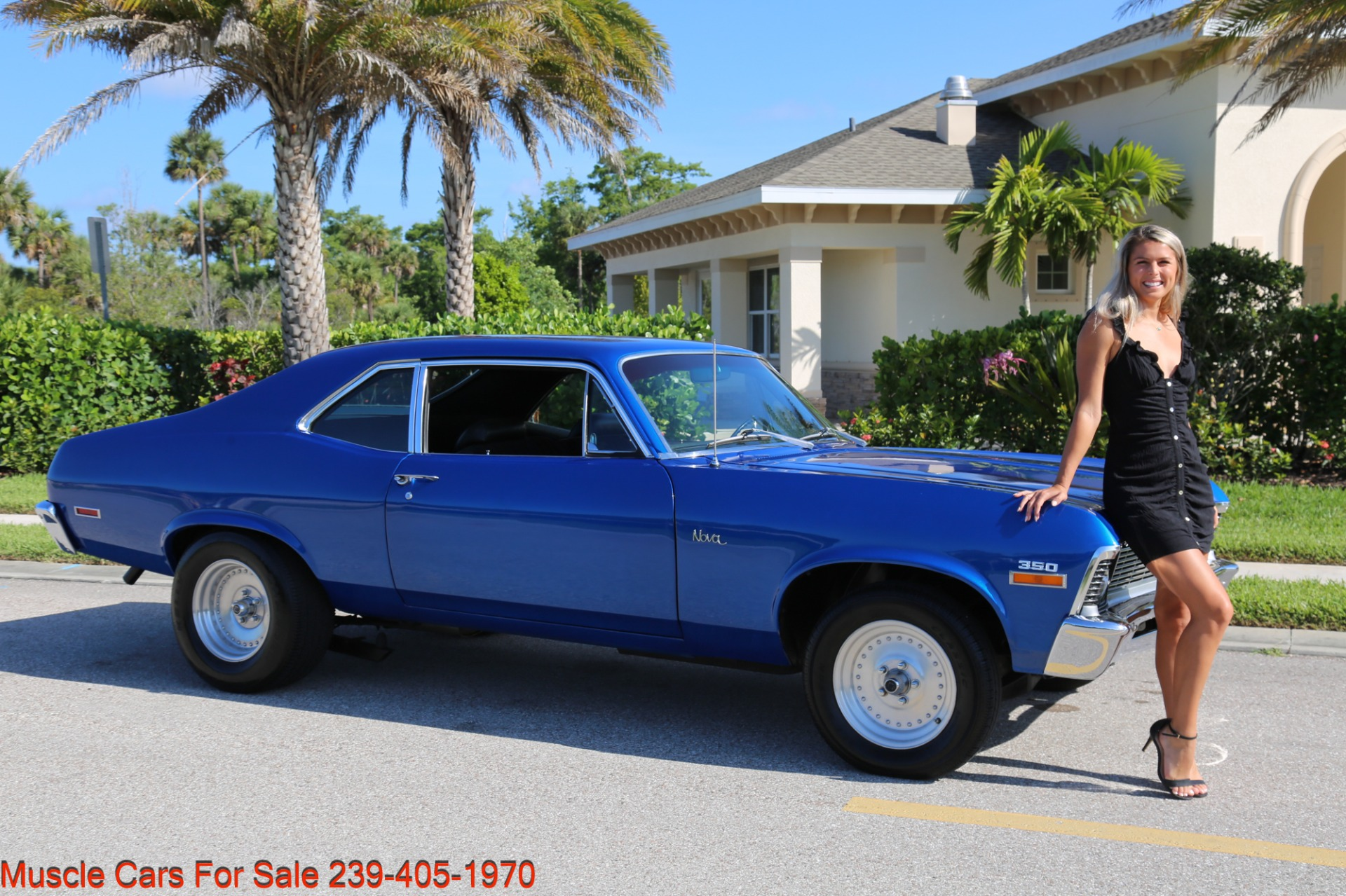 Used 1971 Chevrolet Nova SS for sale Sold at Muscle Cars for Sale Inc. in Fort Myers FL 33912 1