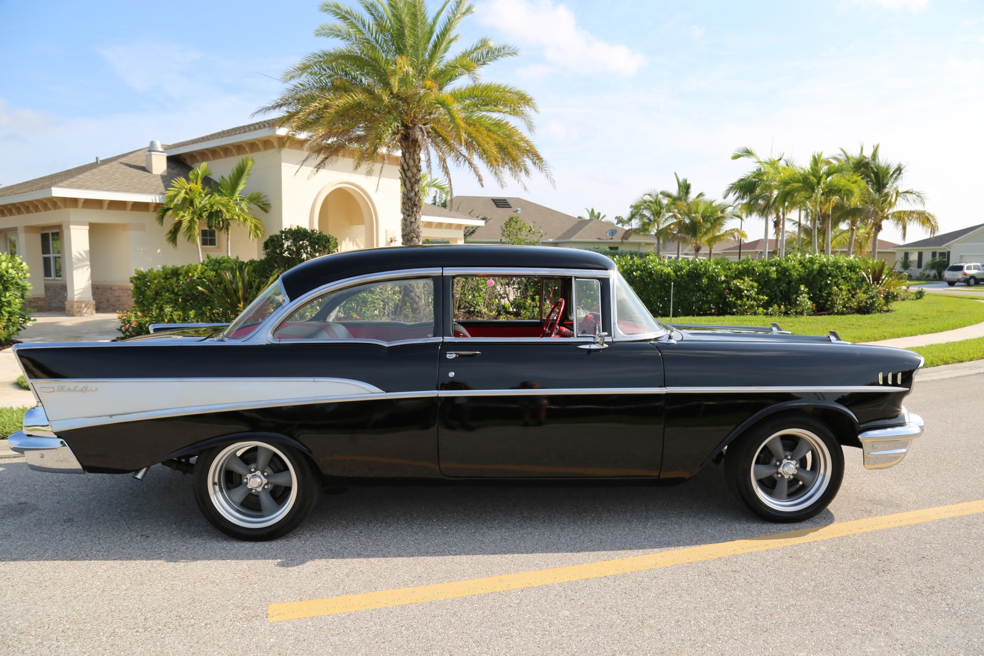 Used 1957 Chevy Bel Air Belair for sale Sold at Muscle Cars for Sale Inc. in Fort Myers FL 33912 2