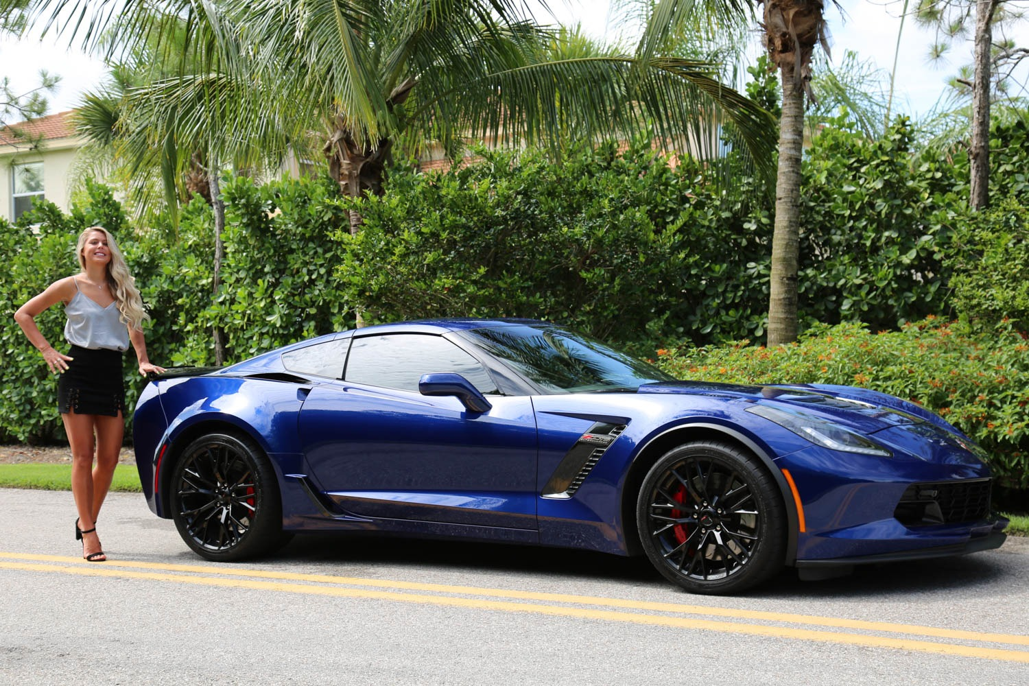 Used 2016 Chevrolet Z06 Corvette Z06 for sale Sold at Muscle Cars for Sale Inc. in Fort Myers FL 33912 4